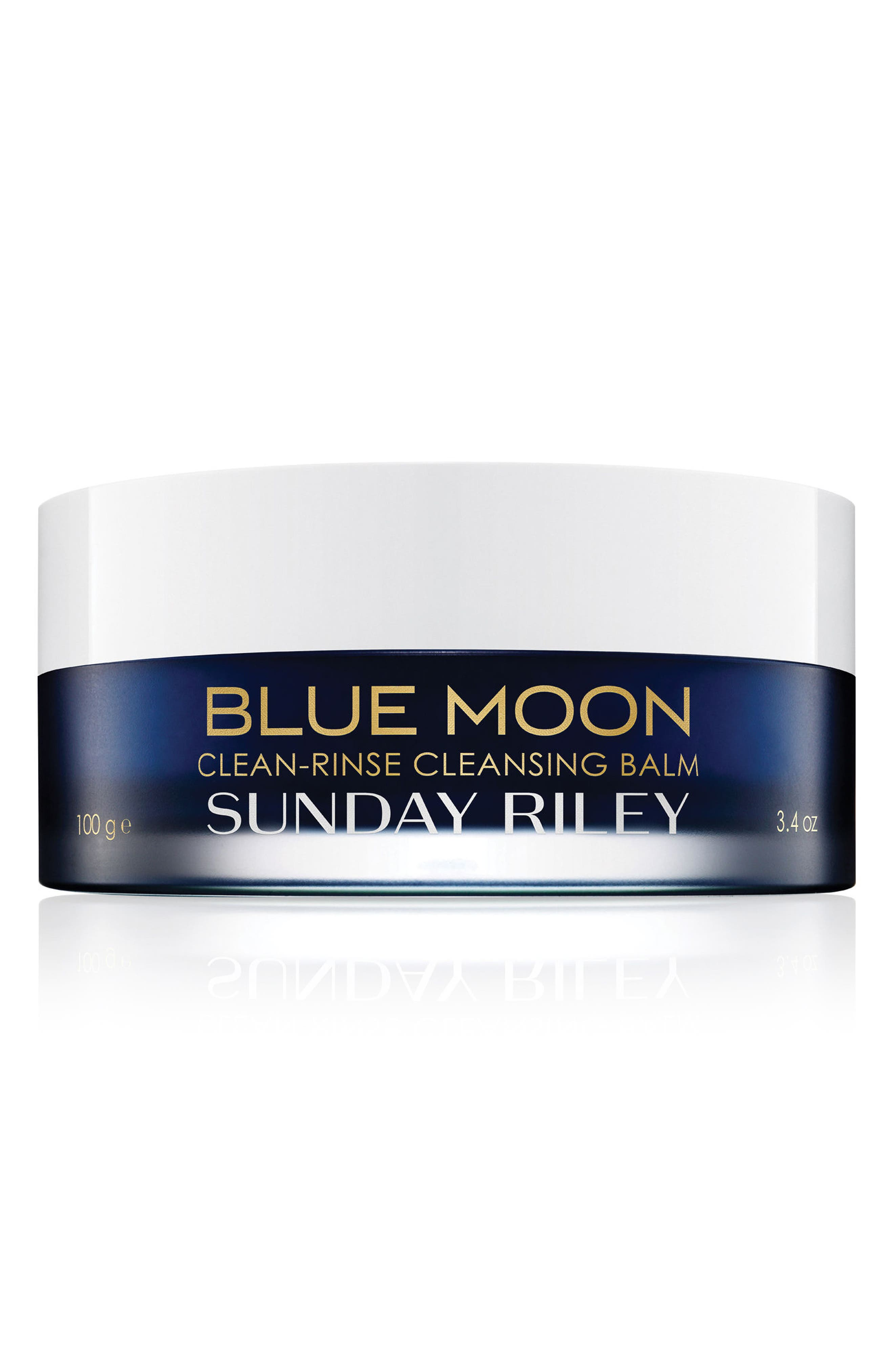 SUNDAY RILEY,                             SPACE.NK.apothecary Sunday Riley Blue Moon Tranquility Cleansing Balm,                             Main thumbnail 1, color,                             NO COLOR