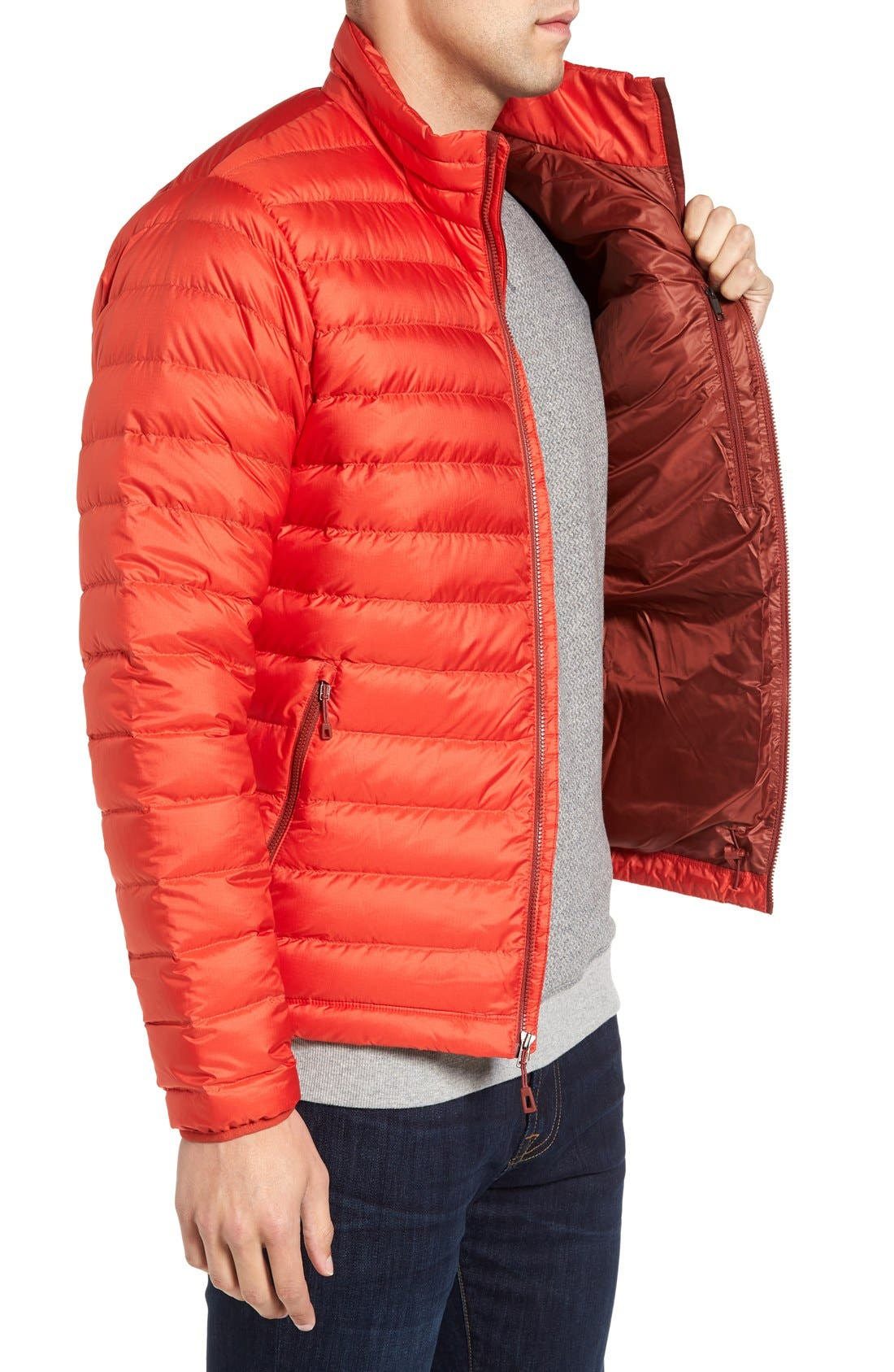 Water Repellent Down Jacket,                             Alternate thumbnail 60, color,