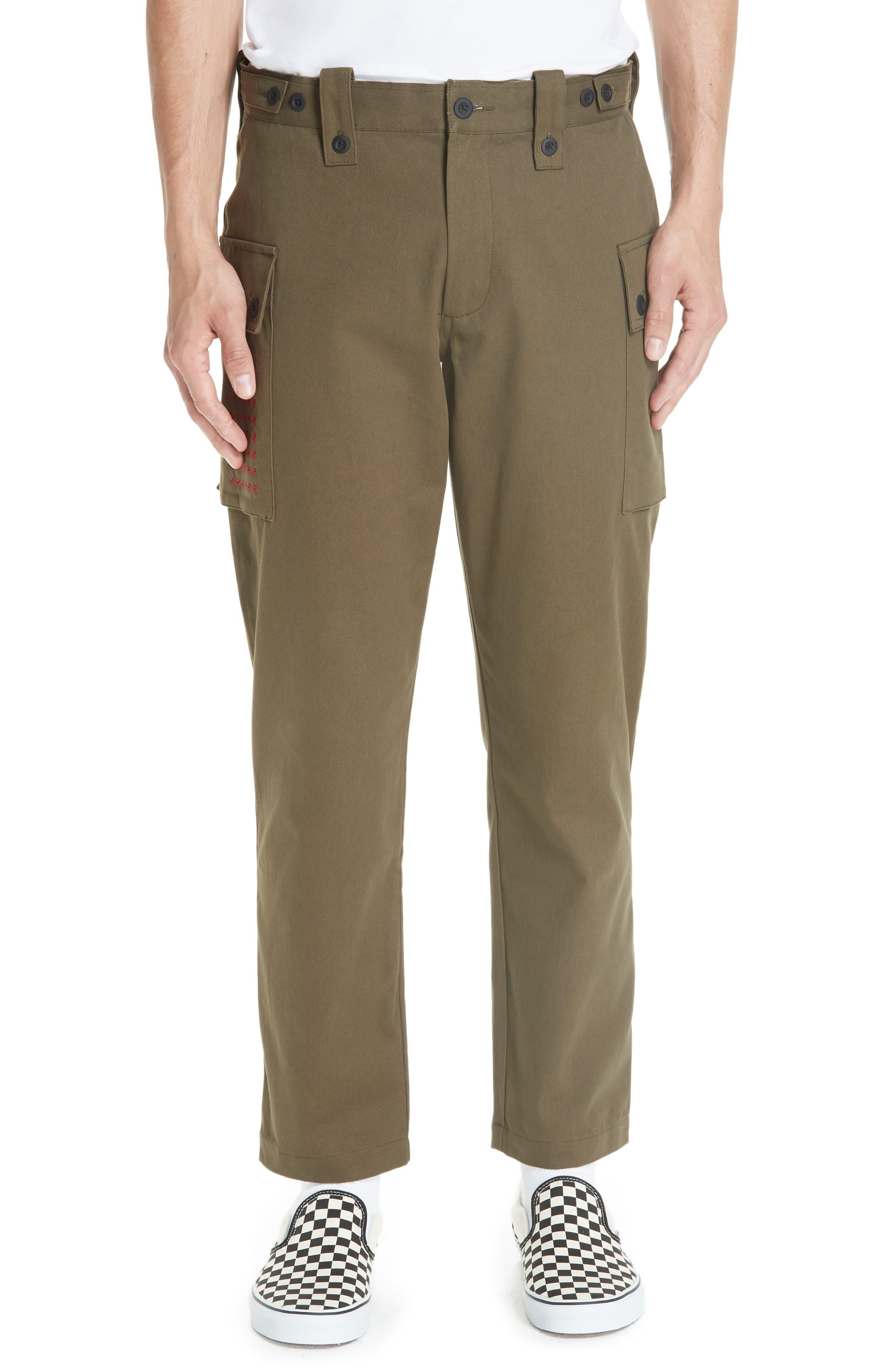 Storm Utility Cargo Pants,                         Main,                         color, OLIVE