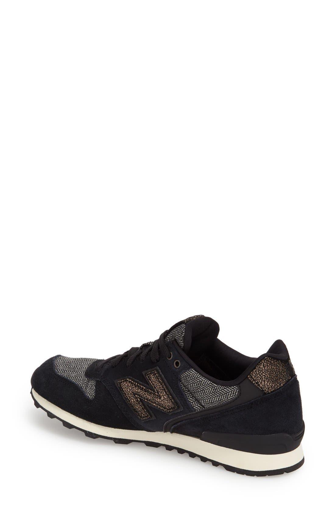 '696' Sneaker,                             Alternate thumbnail 4, color,                             001