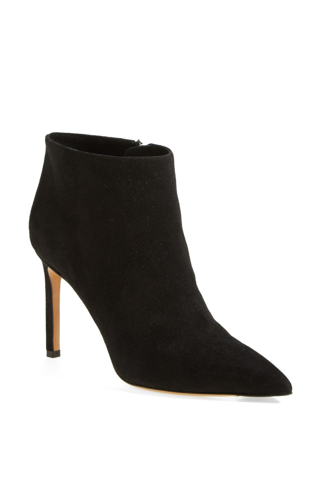 'Chara' Leather Bootie, Main, color, 002