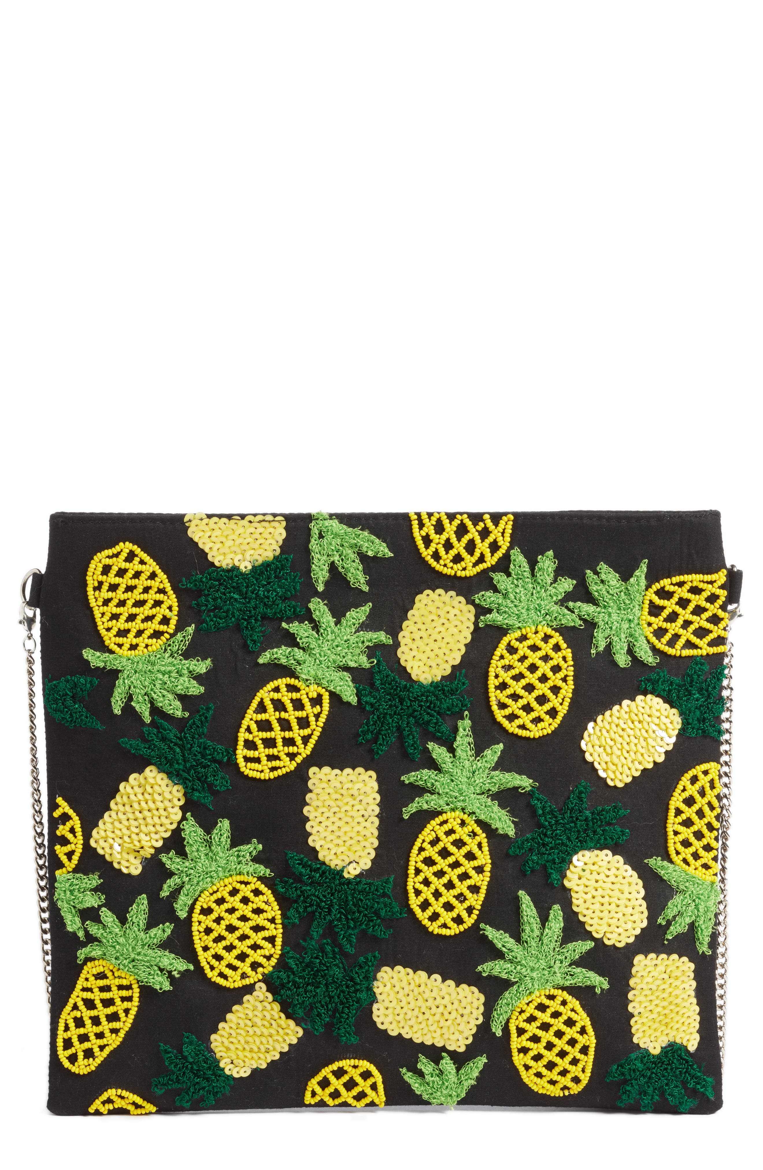AREA STARS Pineapple Crossbody Bag - Black