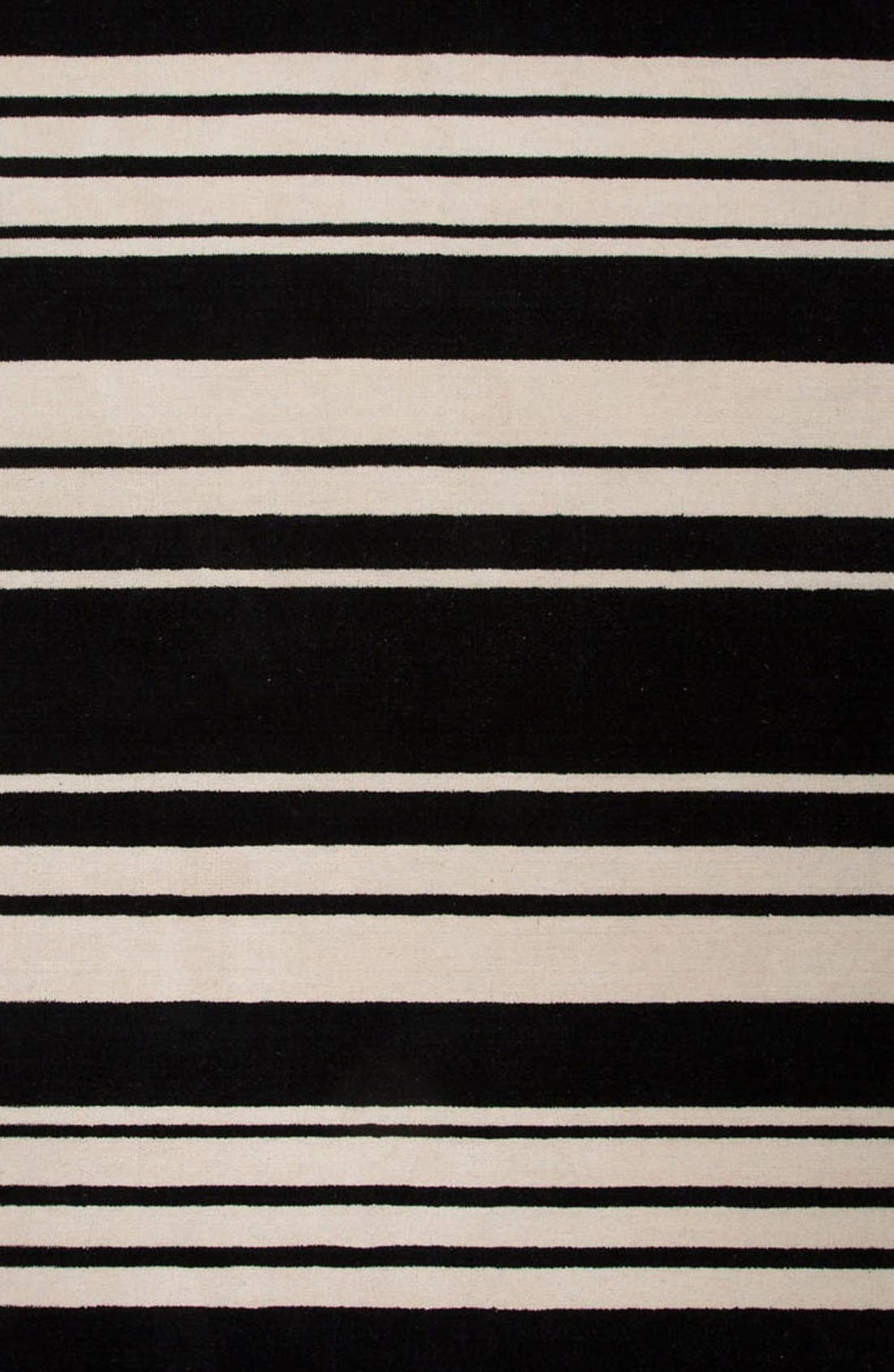 'astor stripe' wool rug,                             Alternate thumbnail 3, color,