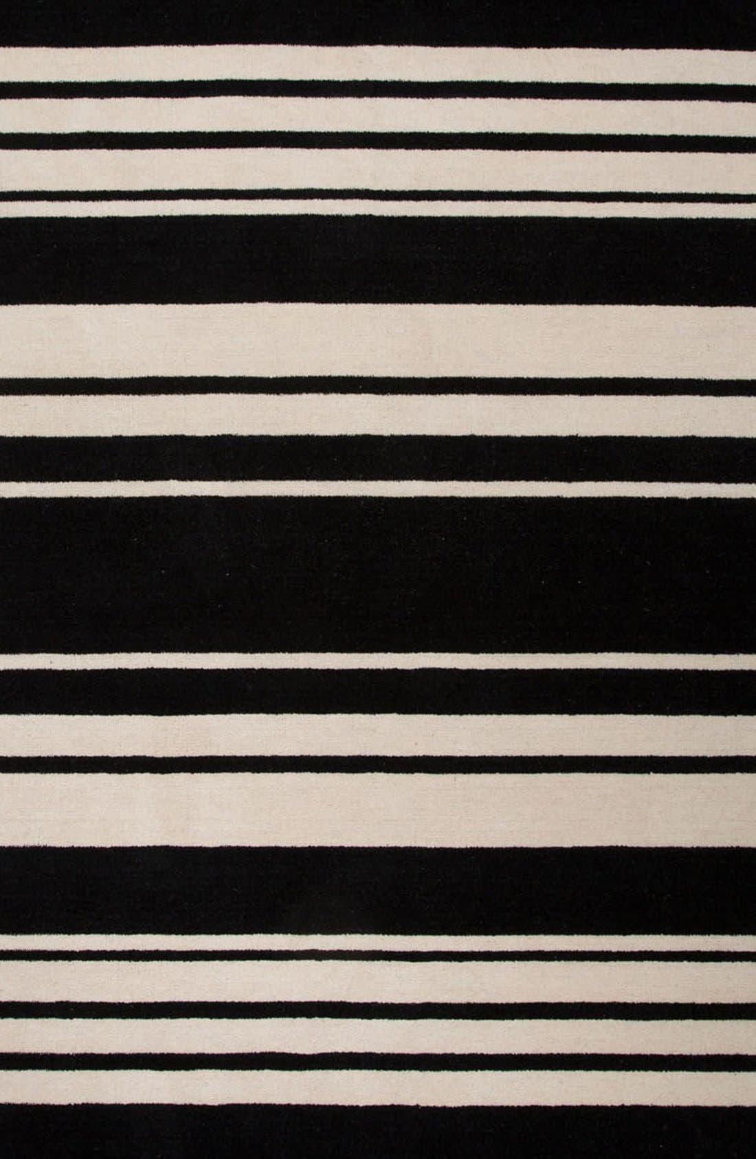 'astor stripe' wool rug,                             Alternate thumbnail 2, color,                             001