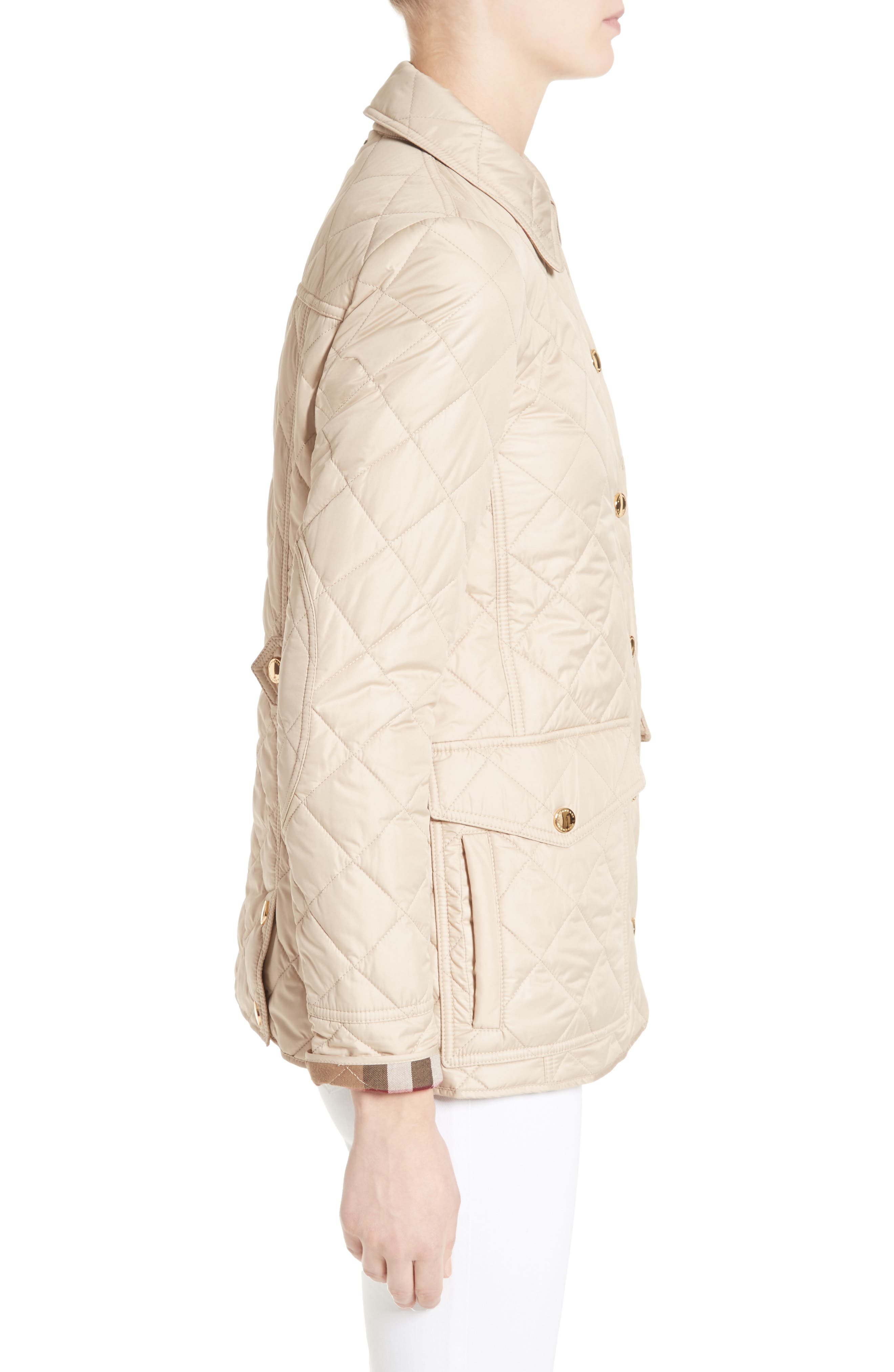 Westbridge Quilted Jacket,                             Alternate thumbnail 3, color,                             250