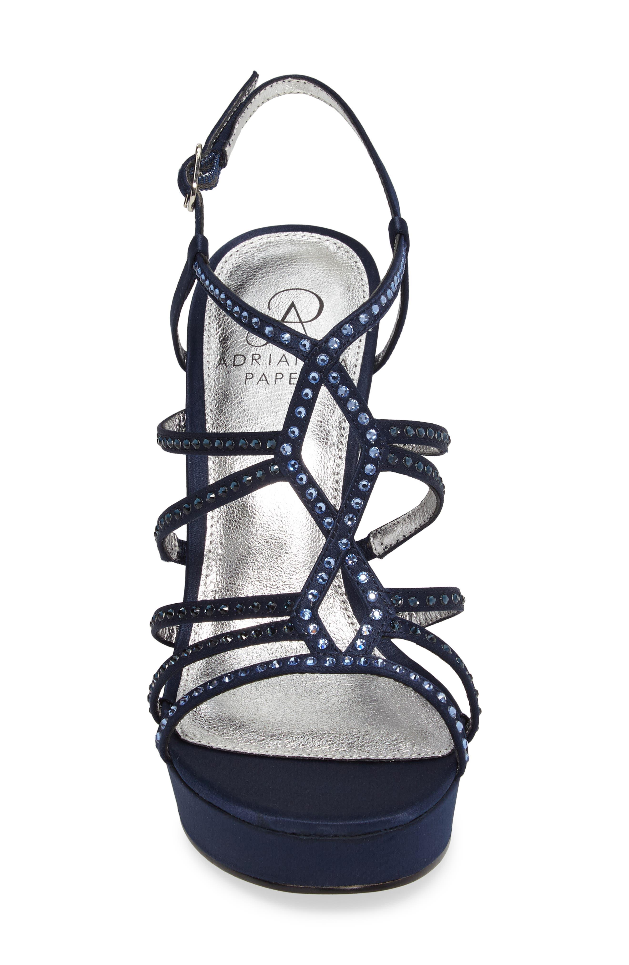 Miranda Embellished Platform Sandal,                             Alternate thumbnail 18, color,