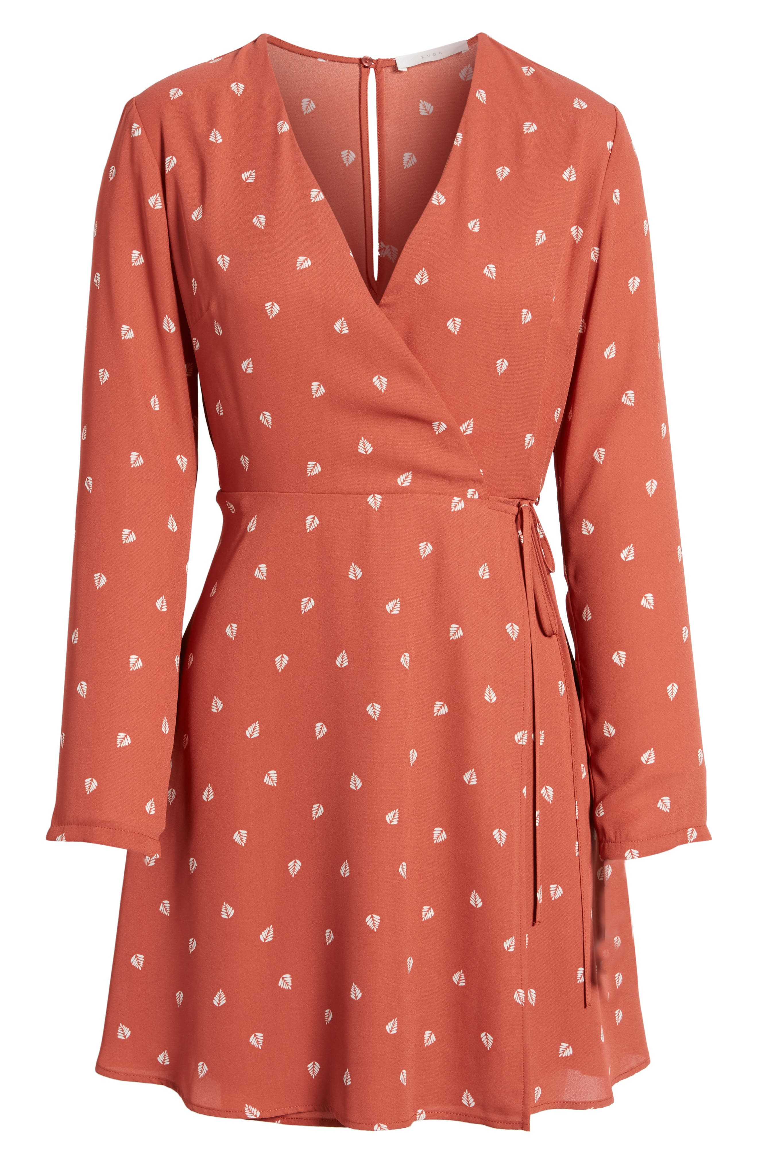 Elly Wrap Dress,                             Alternate thumbnail 72, color,