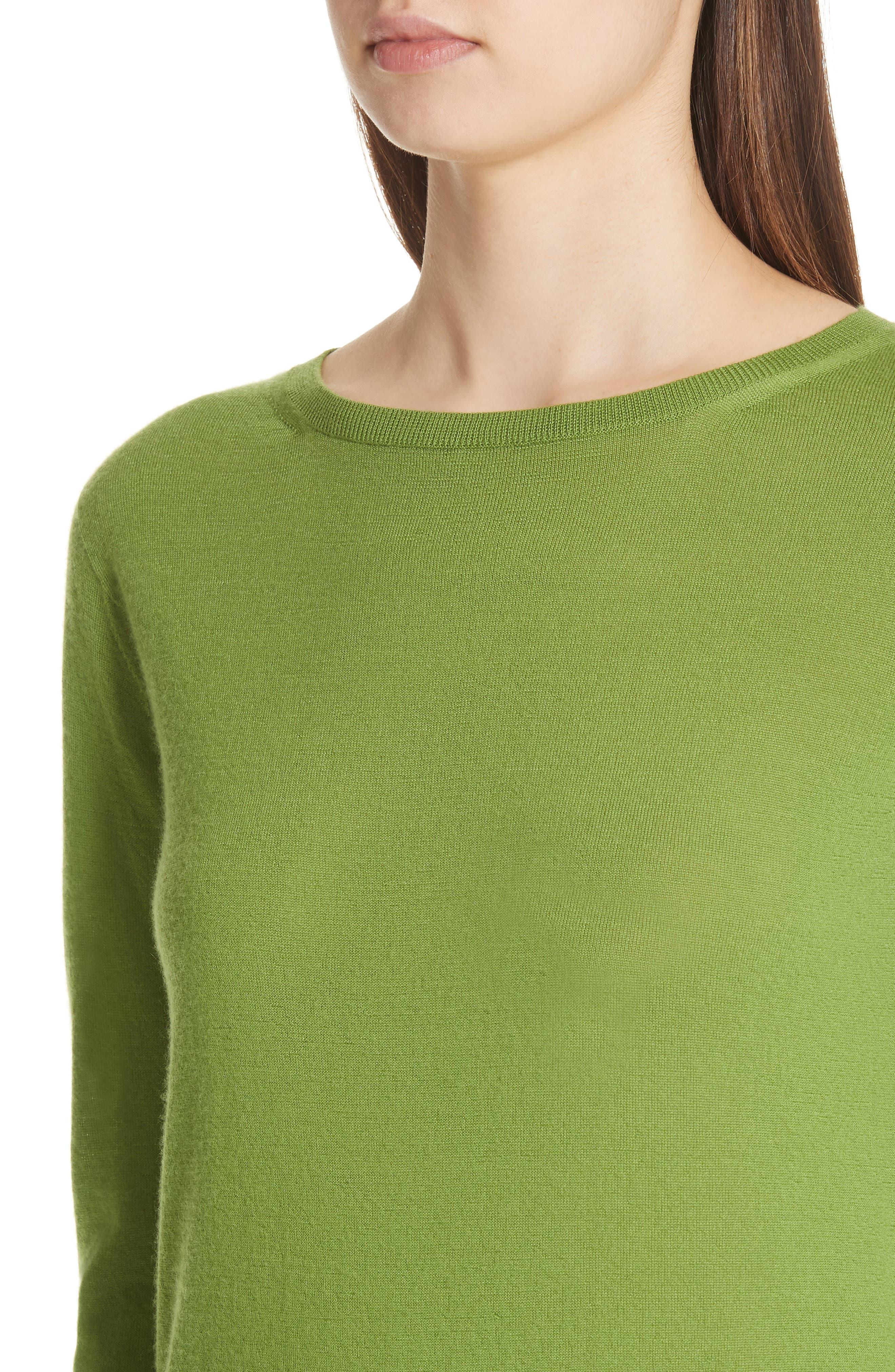 MAX MARA,                             Charles Cashmere Sweater,                             Alternate thumbnail 4, color,                             314