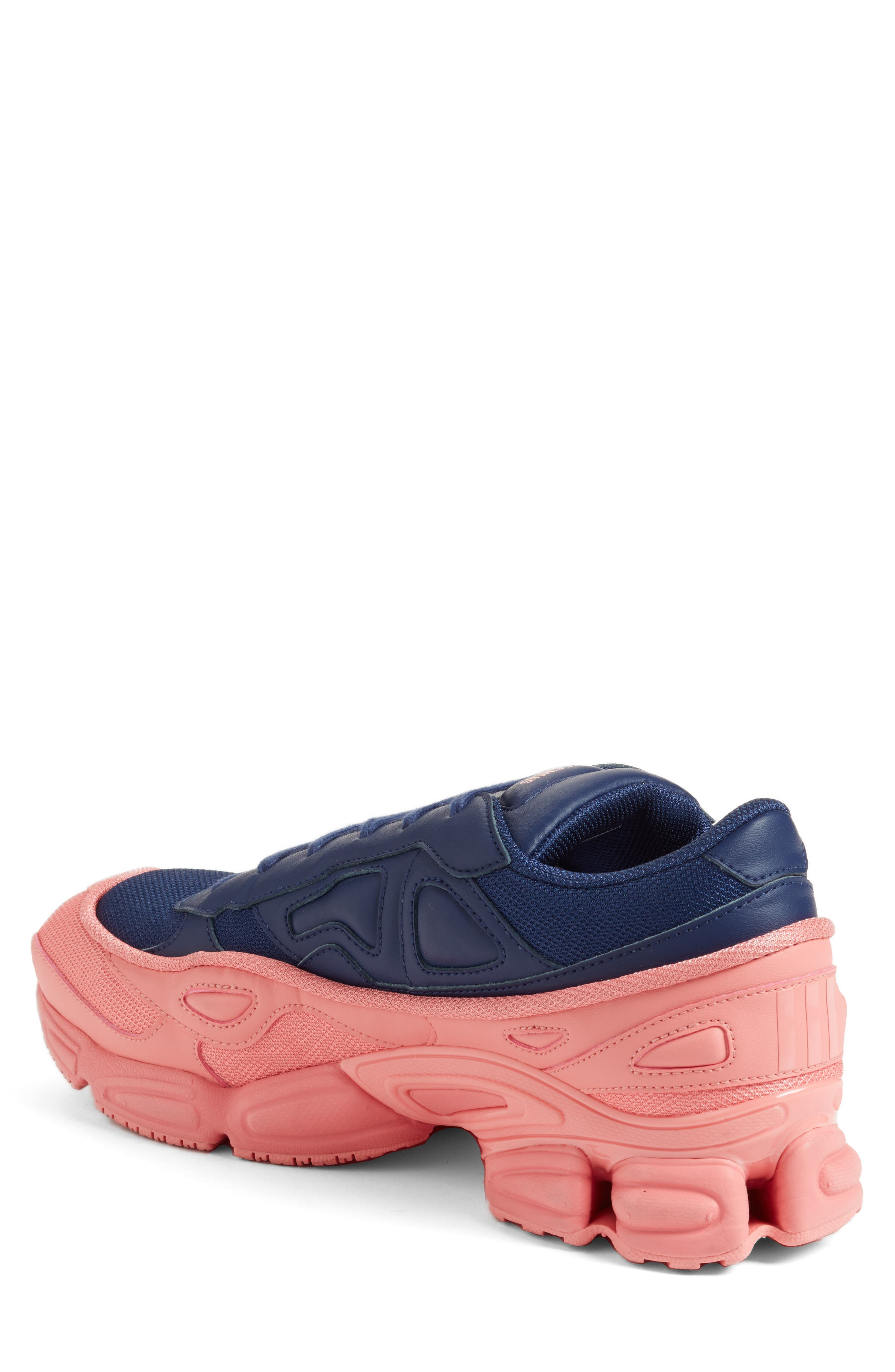 adidas by Raf Simons Ozweego III Sneaker,                             Alternate thumbnail 2, color,                             TACTILE ROSE/ DARK BLUE