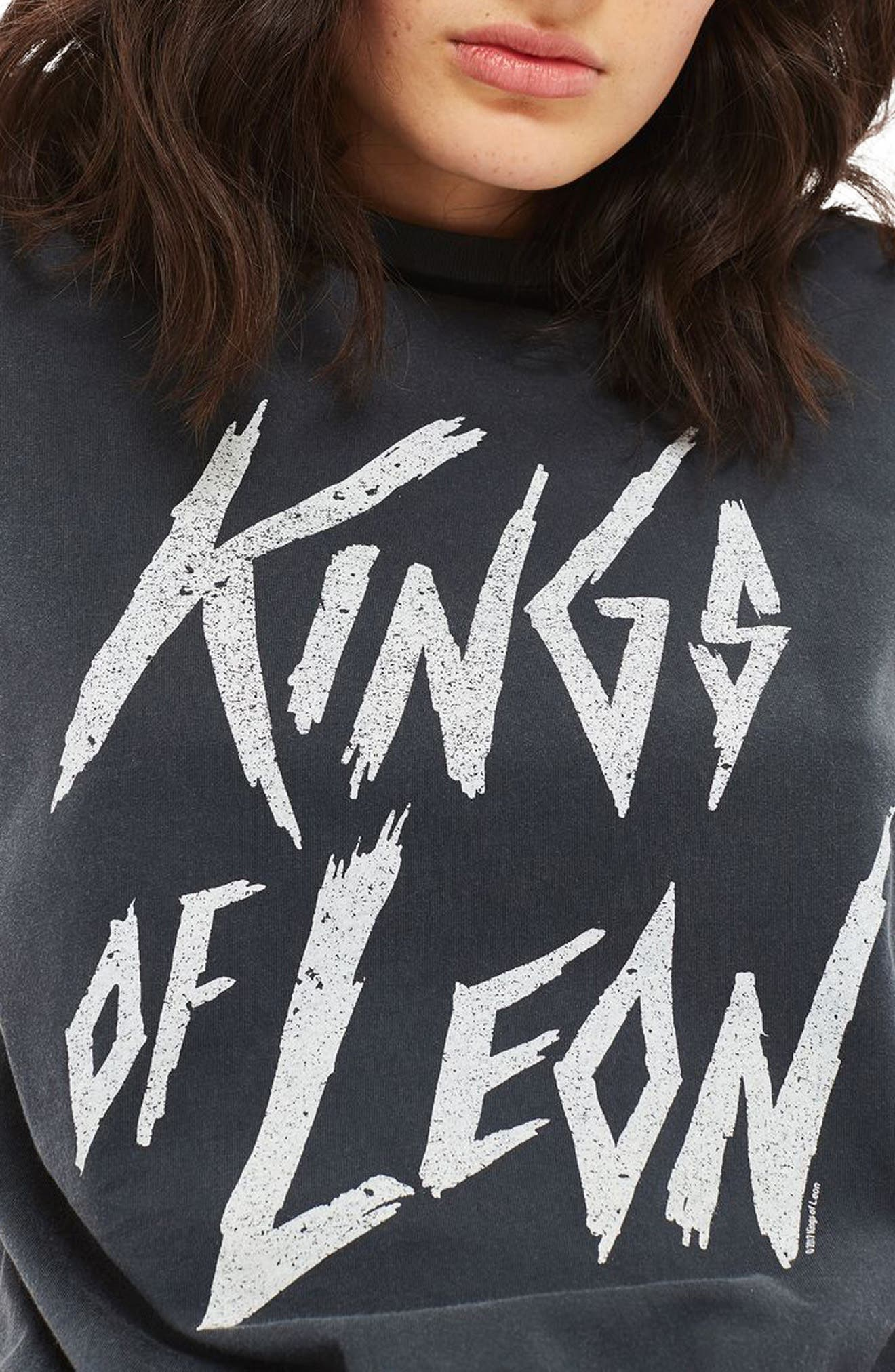 by And Finally Kings of Leon Back Slash Tee,                             Main thumbnail 1, color,                             001