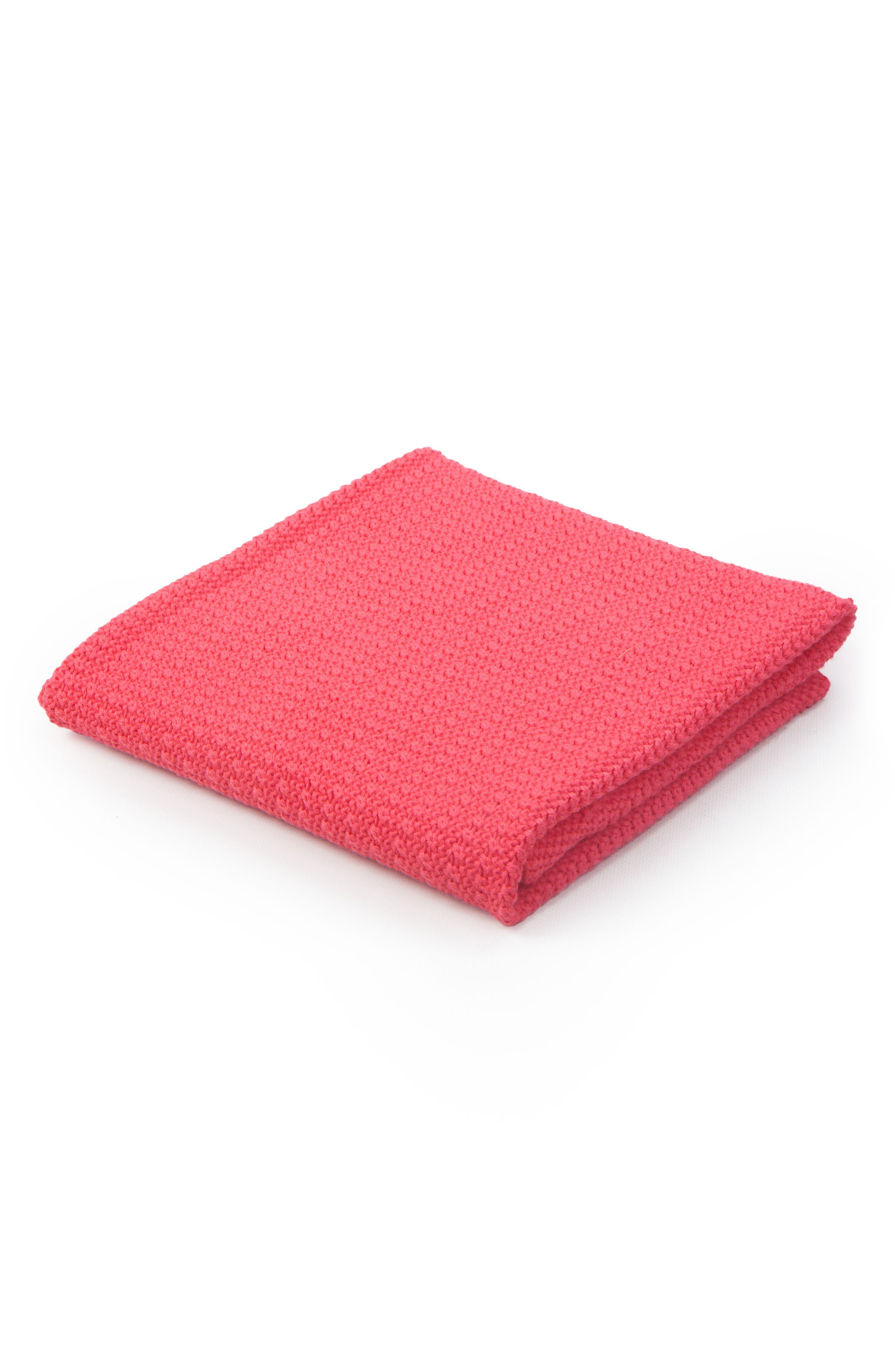 Cellular Cotton Baby Blanket,                             Main thumbnail 3, color,