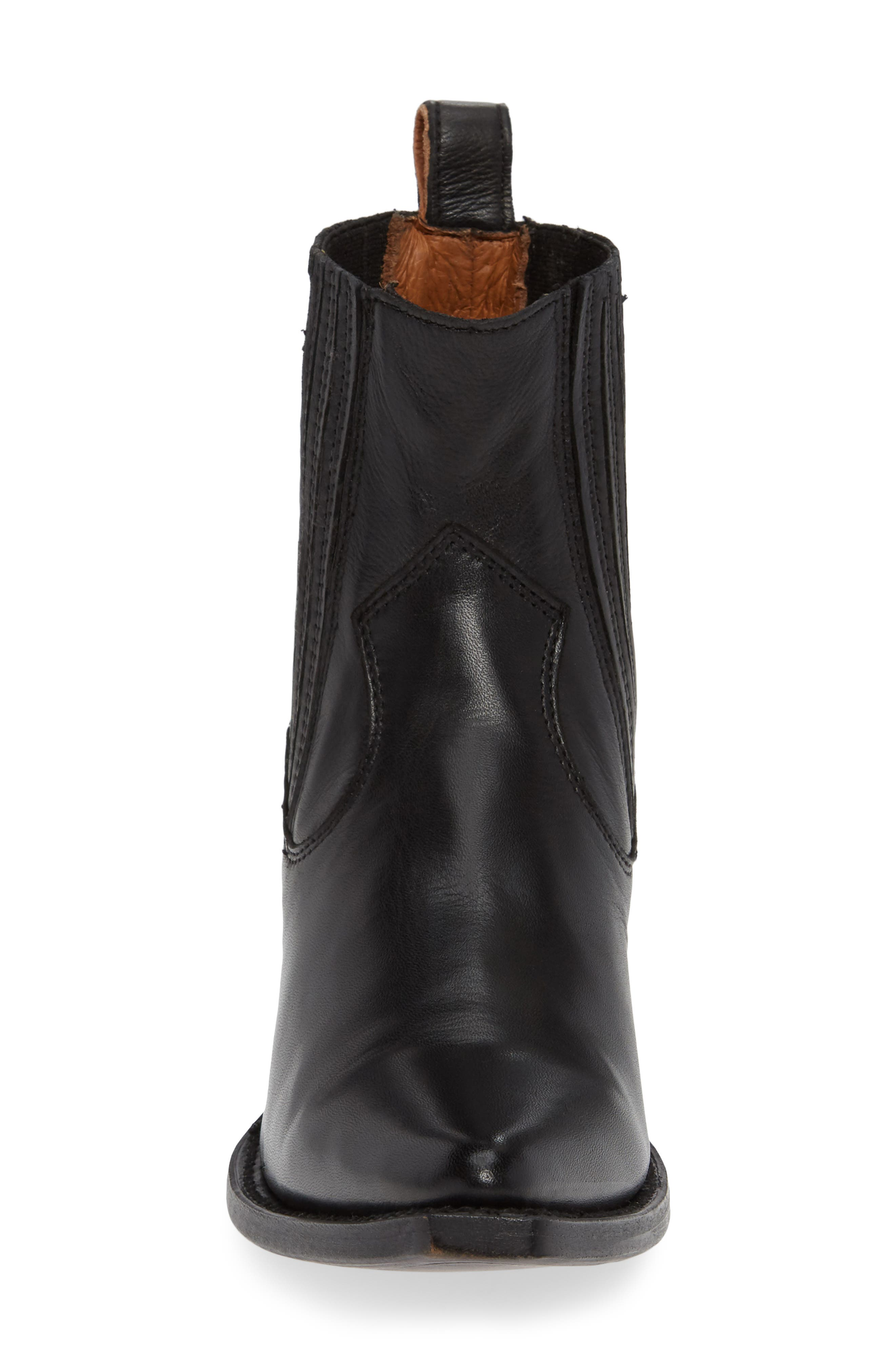 Sacha Western Bootie,                             Alternate thumbnail 4, color,                             001
