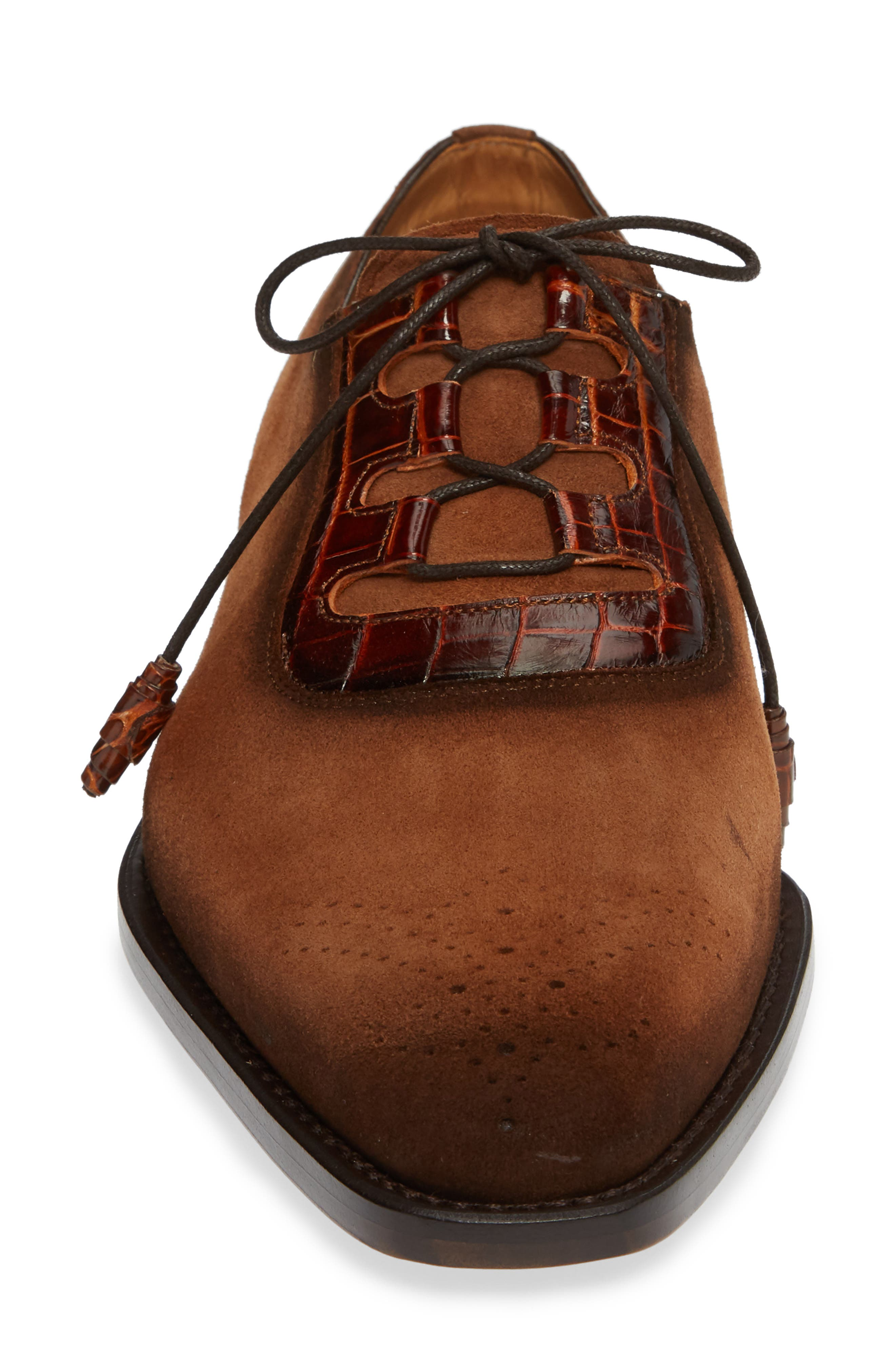 Cassel Oxford,                             Alternate thumbnail 4, color,                             COGNAC