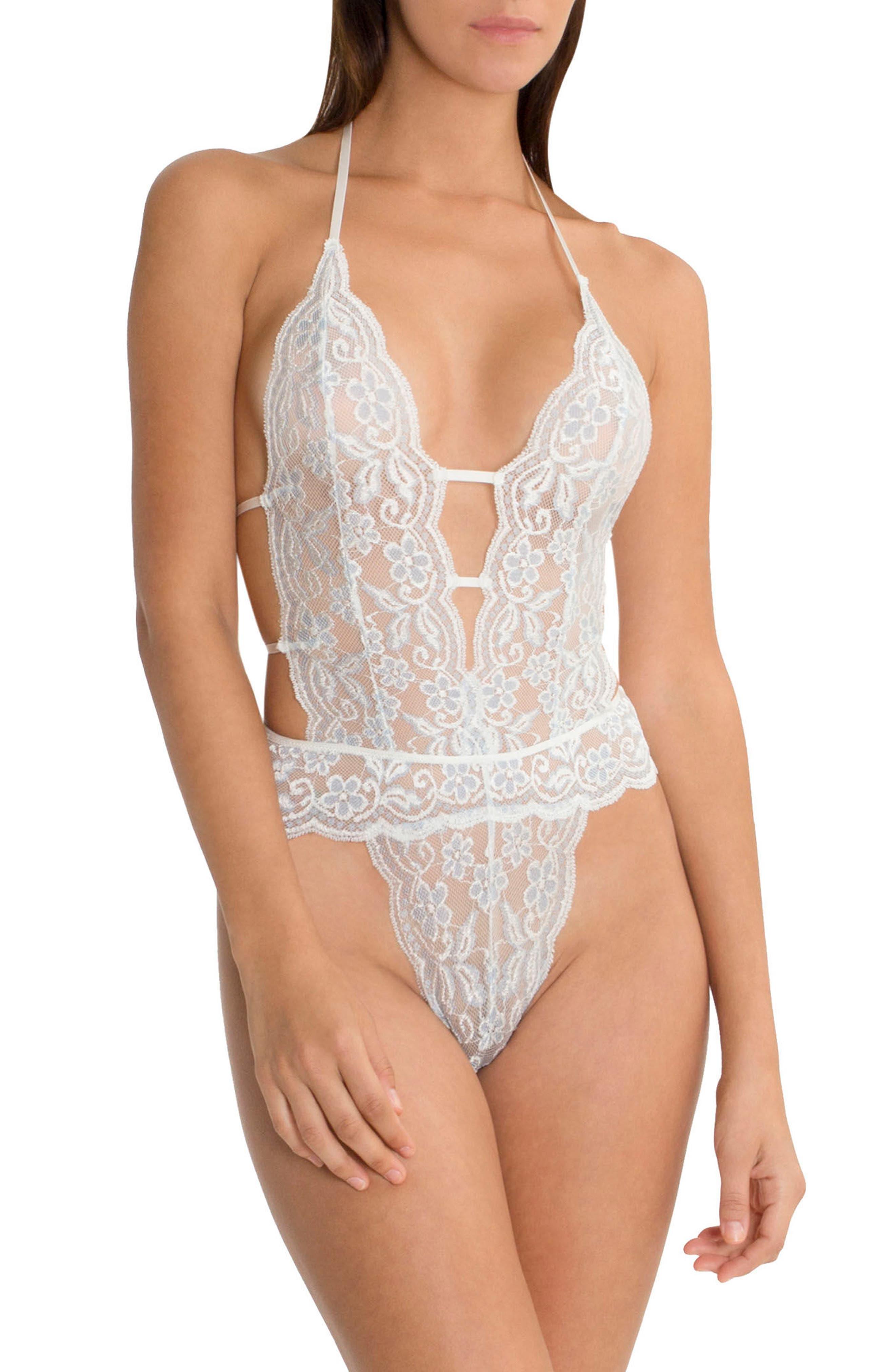 Lace Bodysuit,                             Main thumbnail 1, color,                             900