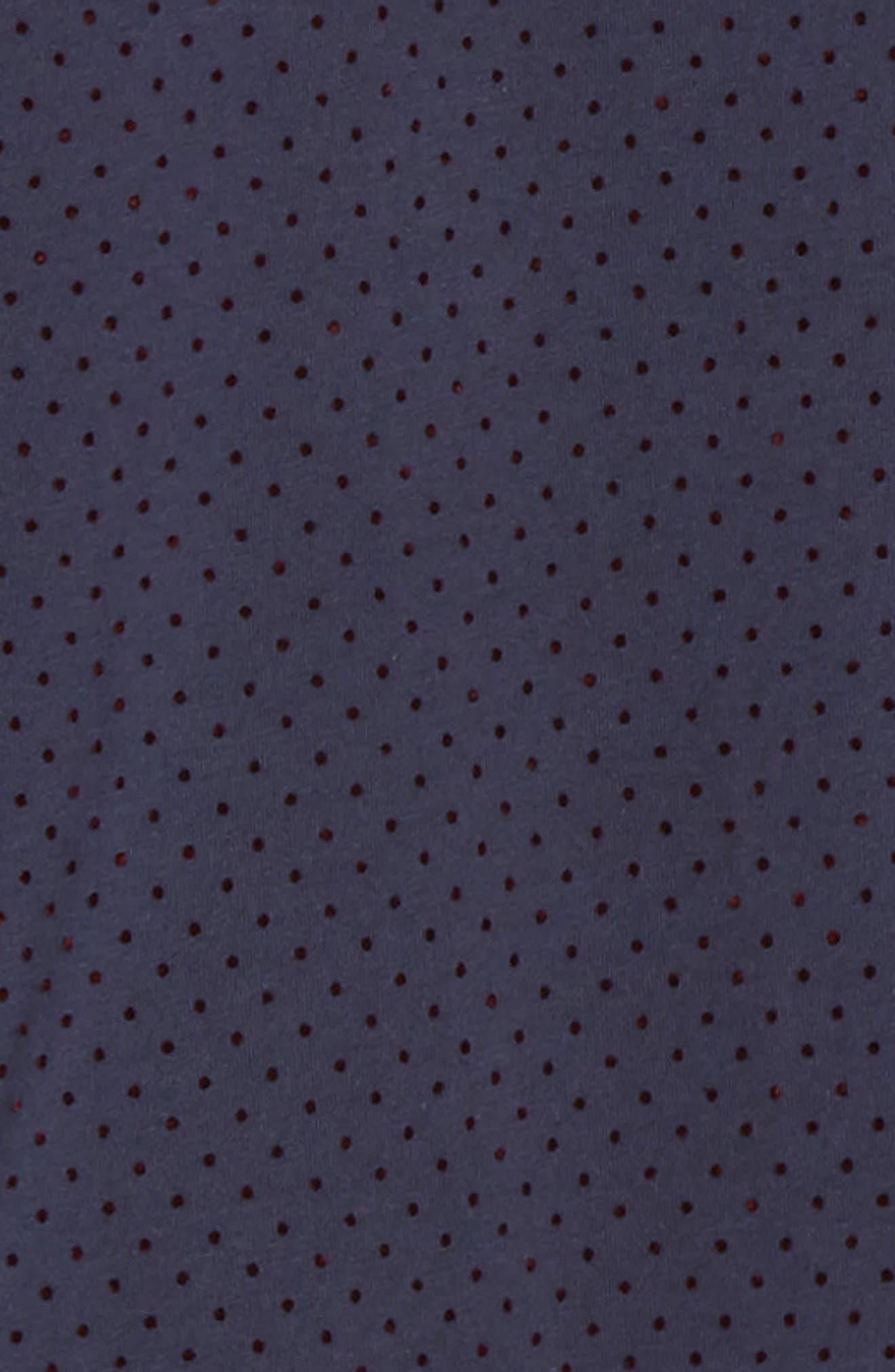 STONE ROSE,                             Regular Fit Knit Sport Shirt,                             Alternate thumbnail 6, color,                             NAVY