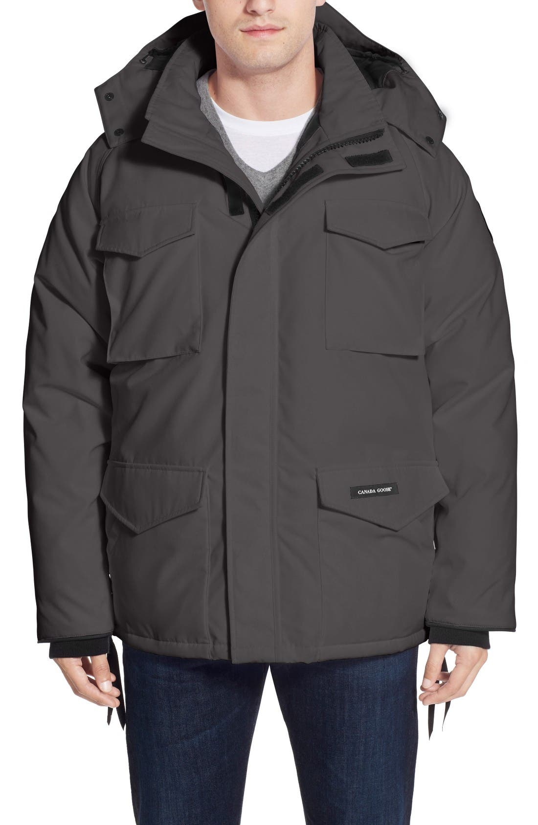 'Constable' Regular Fit Water Resistant Down Parka,                             Main thumbnail 2, color,