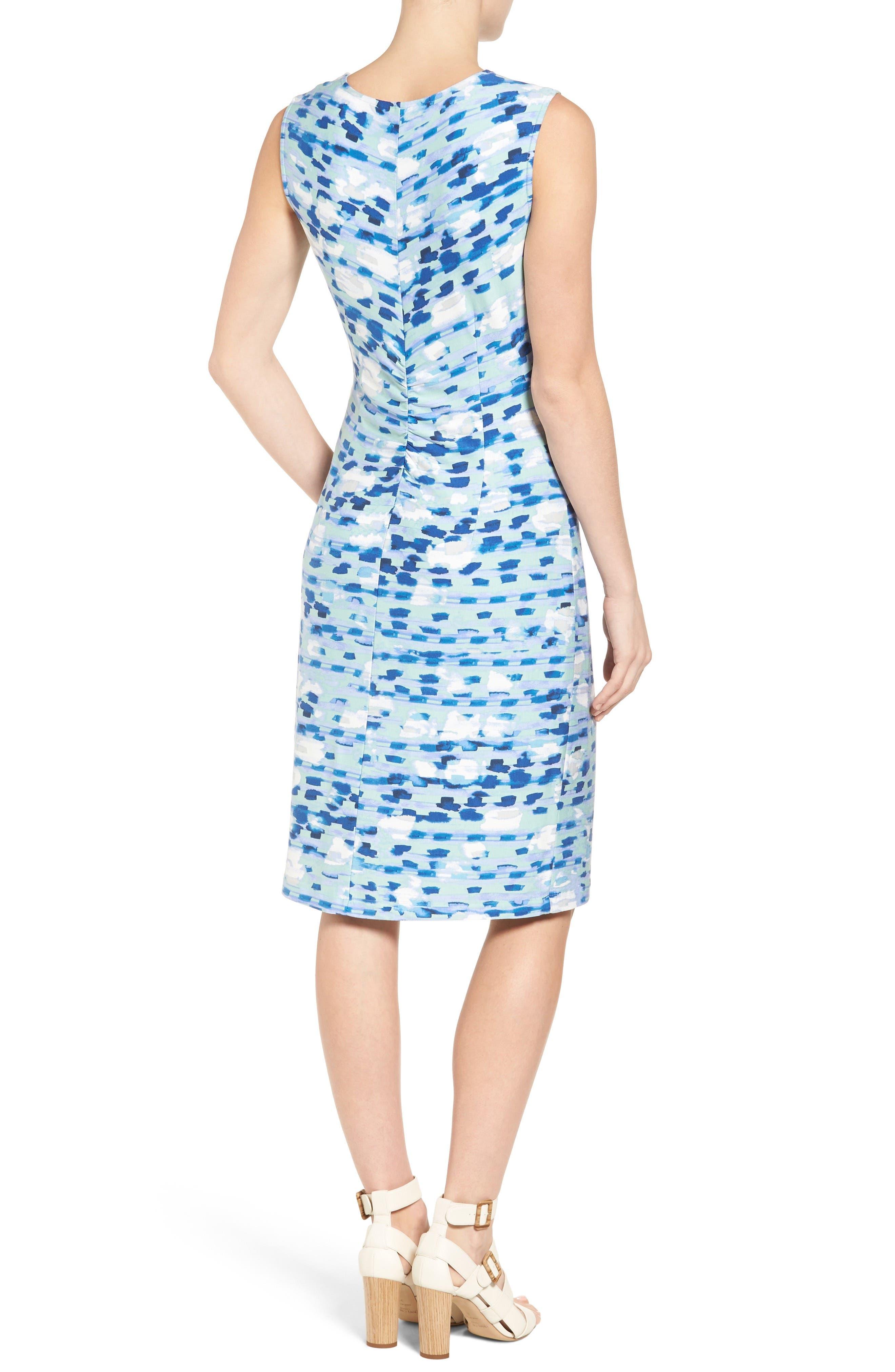 Water Lane Bias Twist Sheath Dress,                             Alternate thumbnail 2, color,                             490