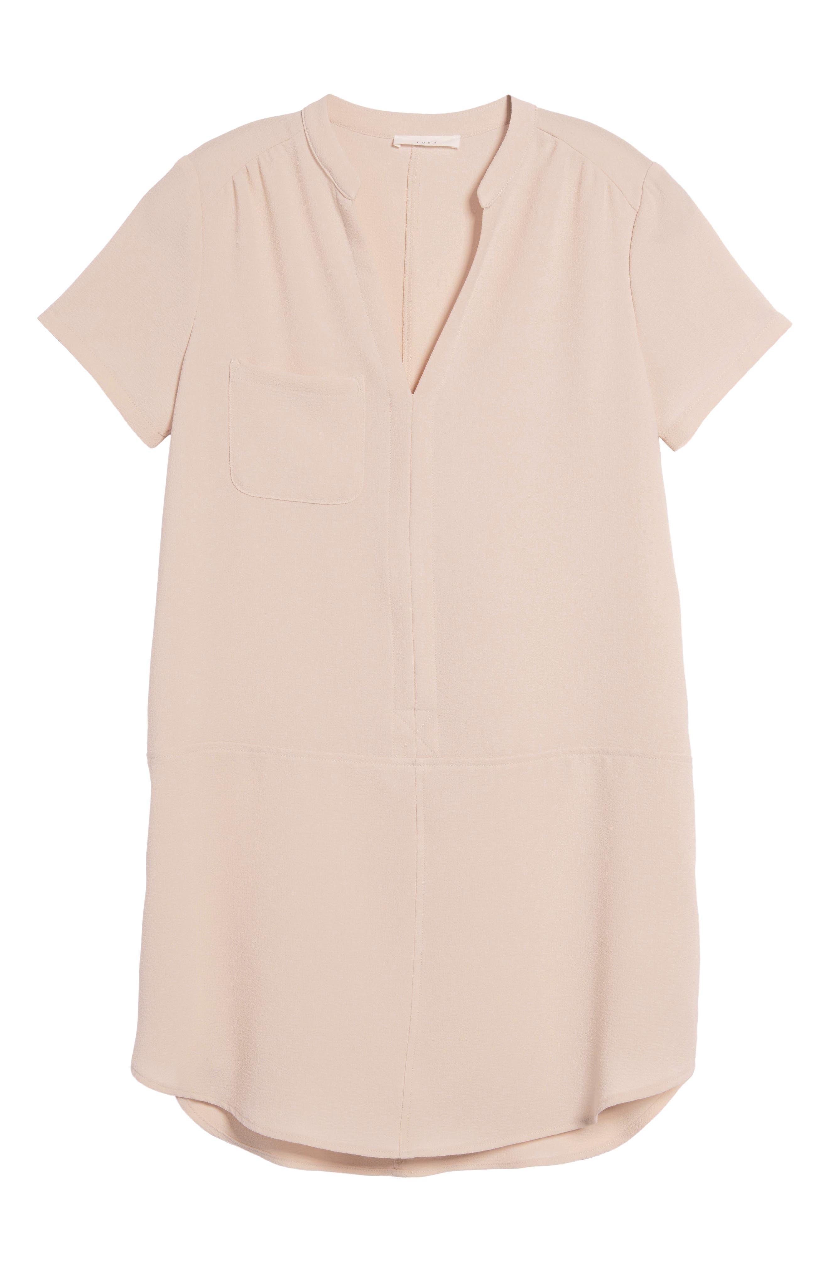 Hailey Crepe Dress,                             Alternate thumbnail 169, color,