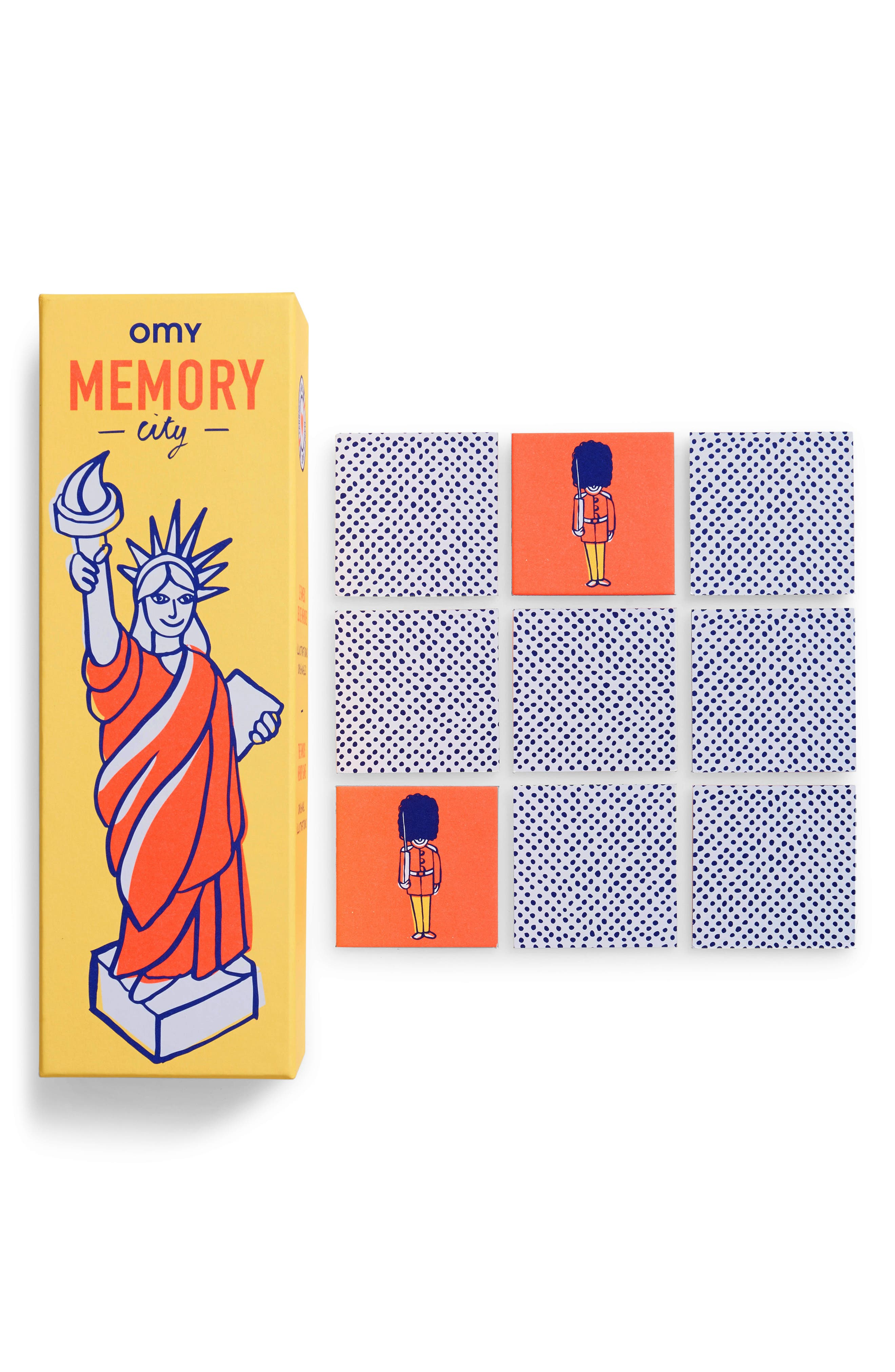 Memory City Game,                             Main thumbnail 1, color,                             YELLOW