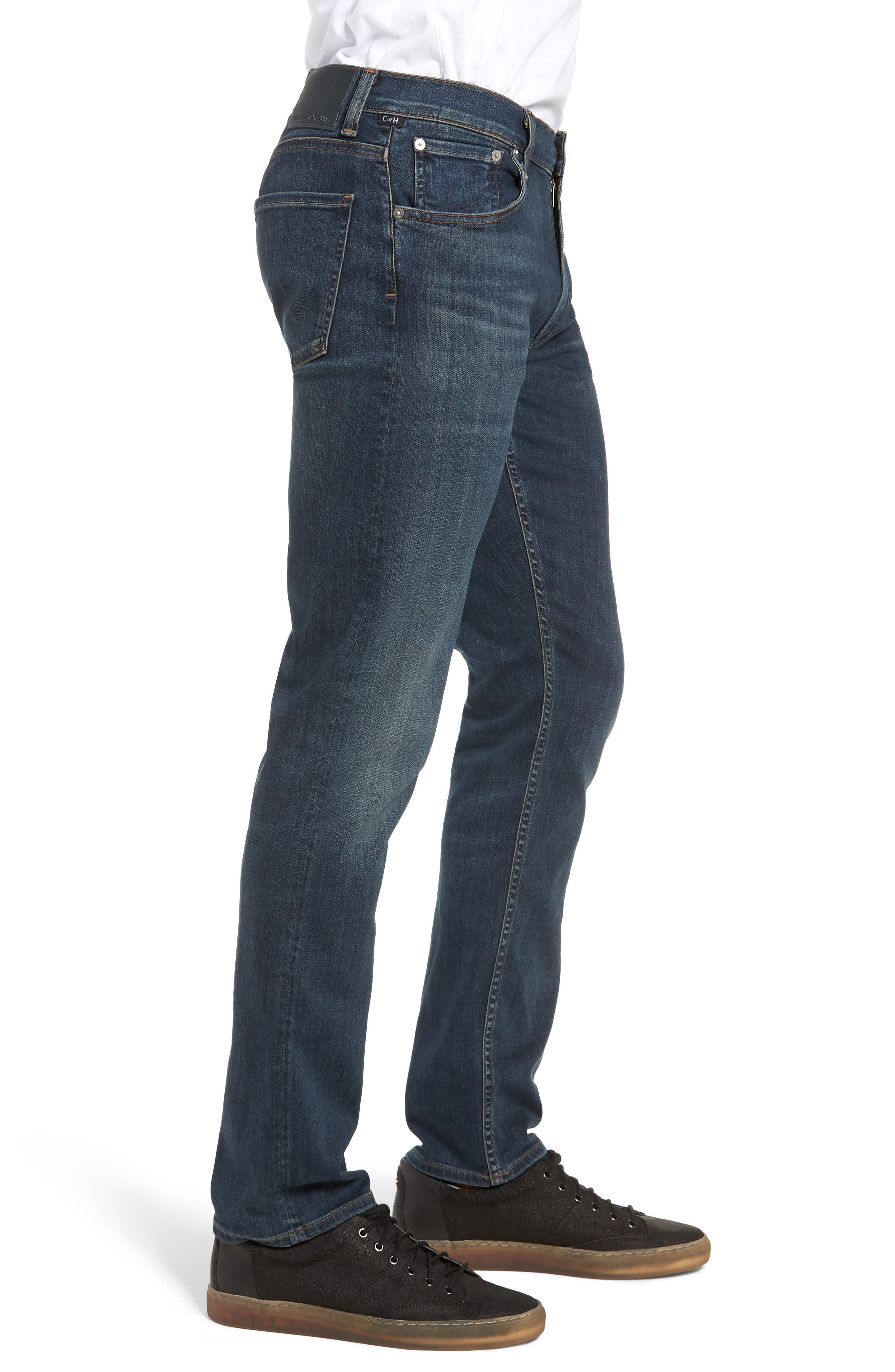 PERFORM - Bowery Slim Fit Jeans,                             Alternate thumbnail 3, color,                             424