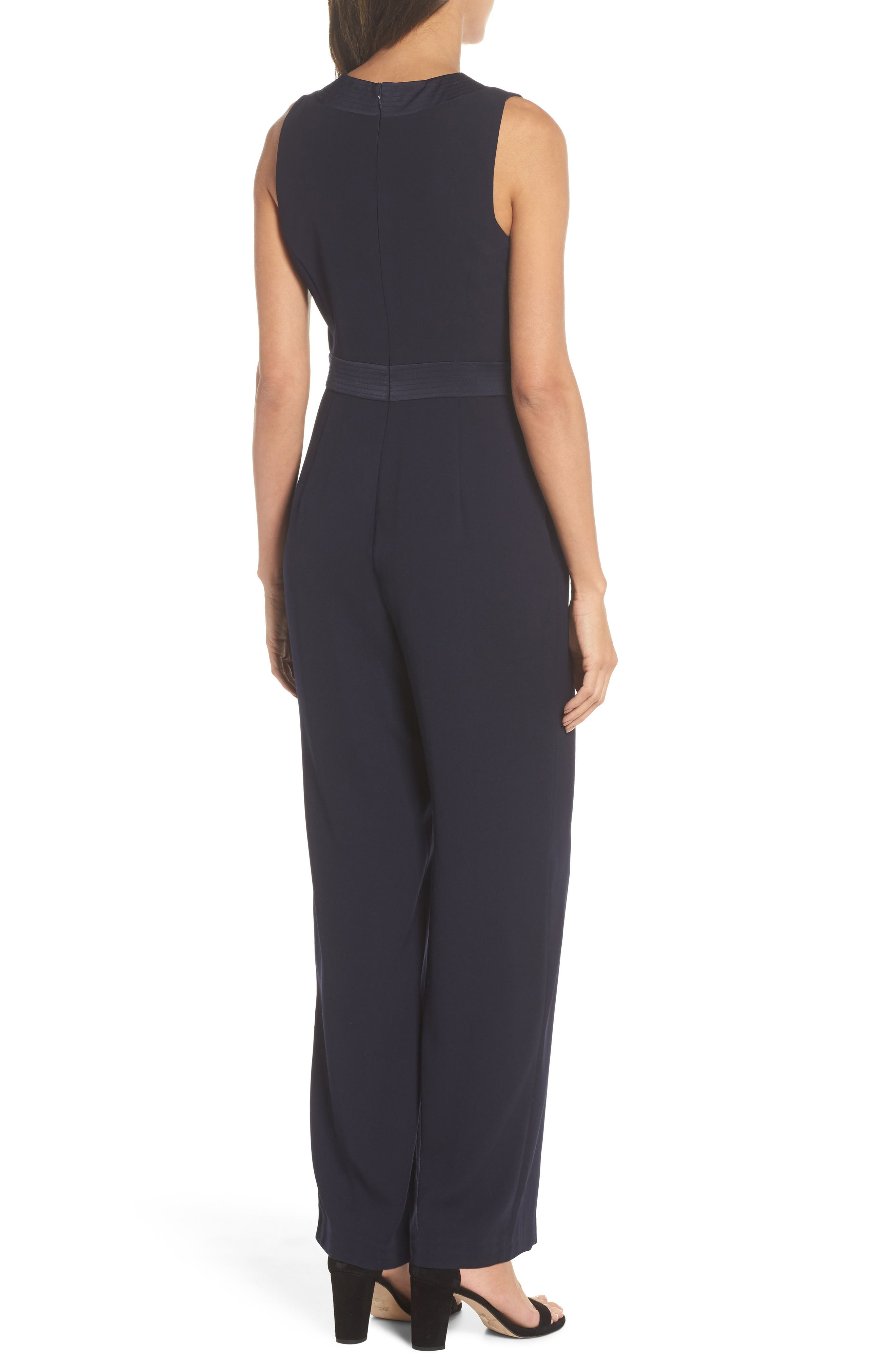 Sleeveless Jumpsuit,                             Alternate thumbnail 2, color,                             410