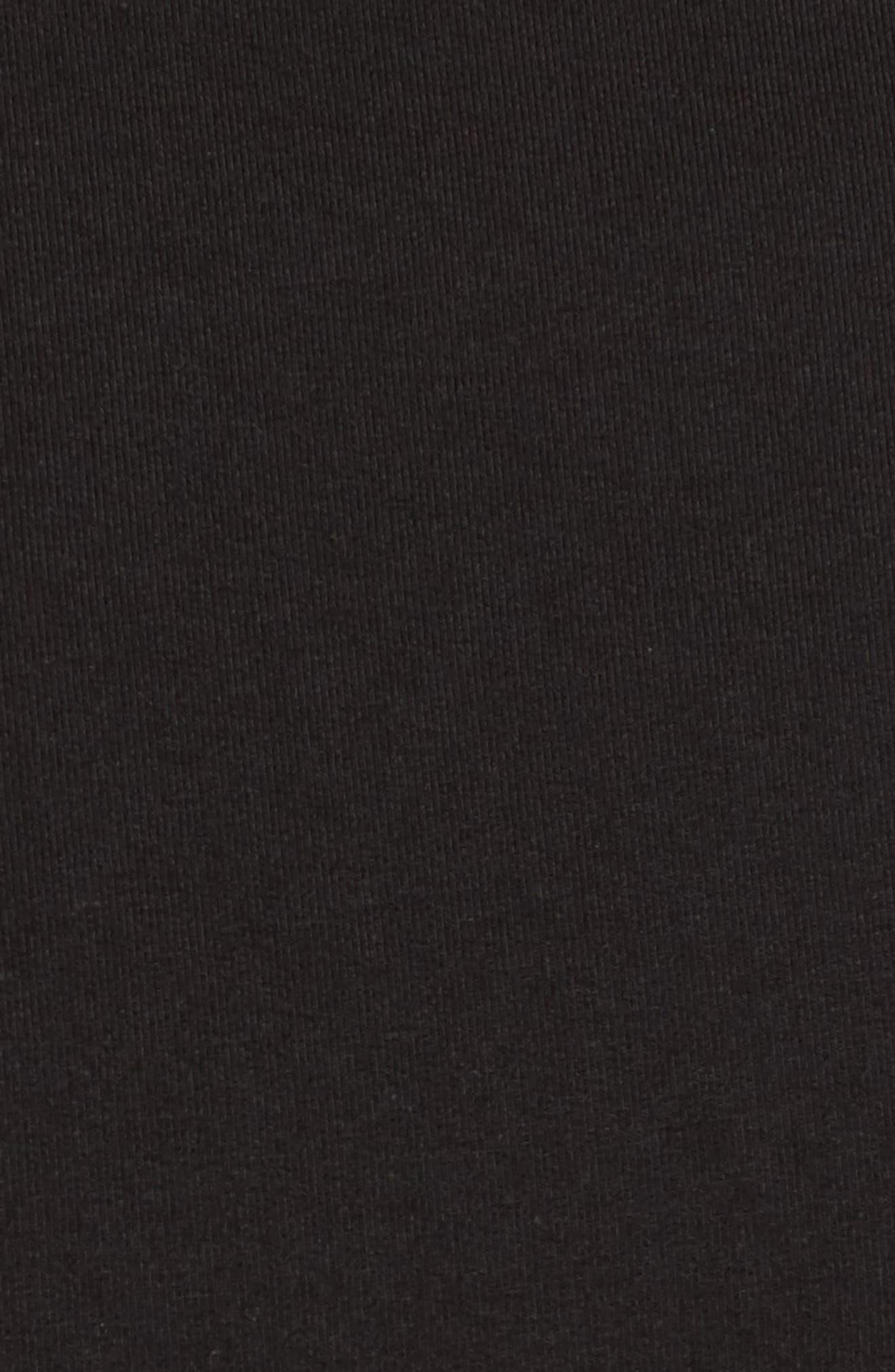 Ruffle Wrap Top,                             Alternate thumbnail 5, color,                             001