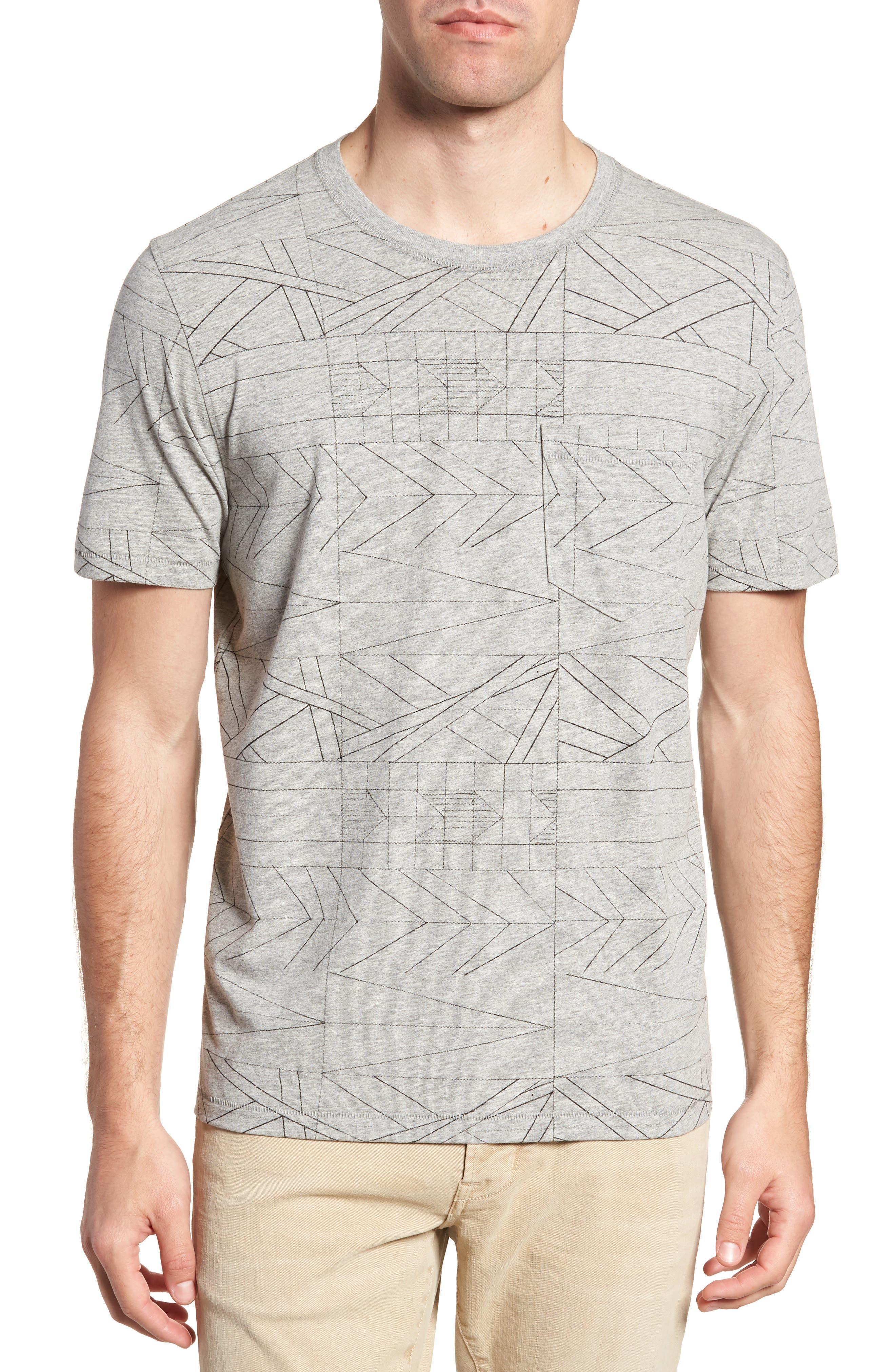 Fracture Line Crewneck T-Shirt,                         Main,                         color, FRACTURE LINE