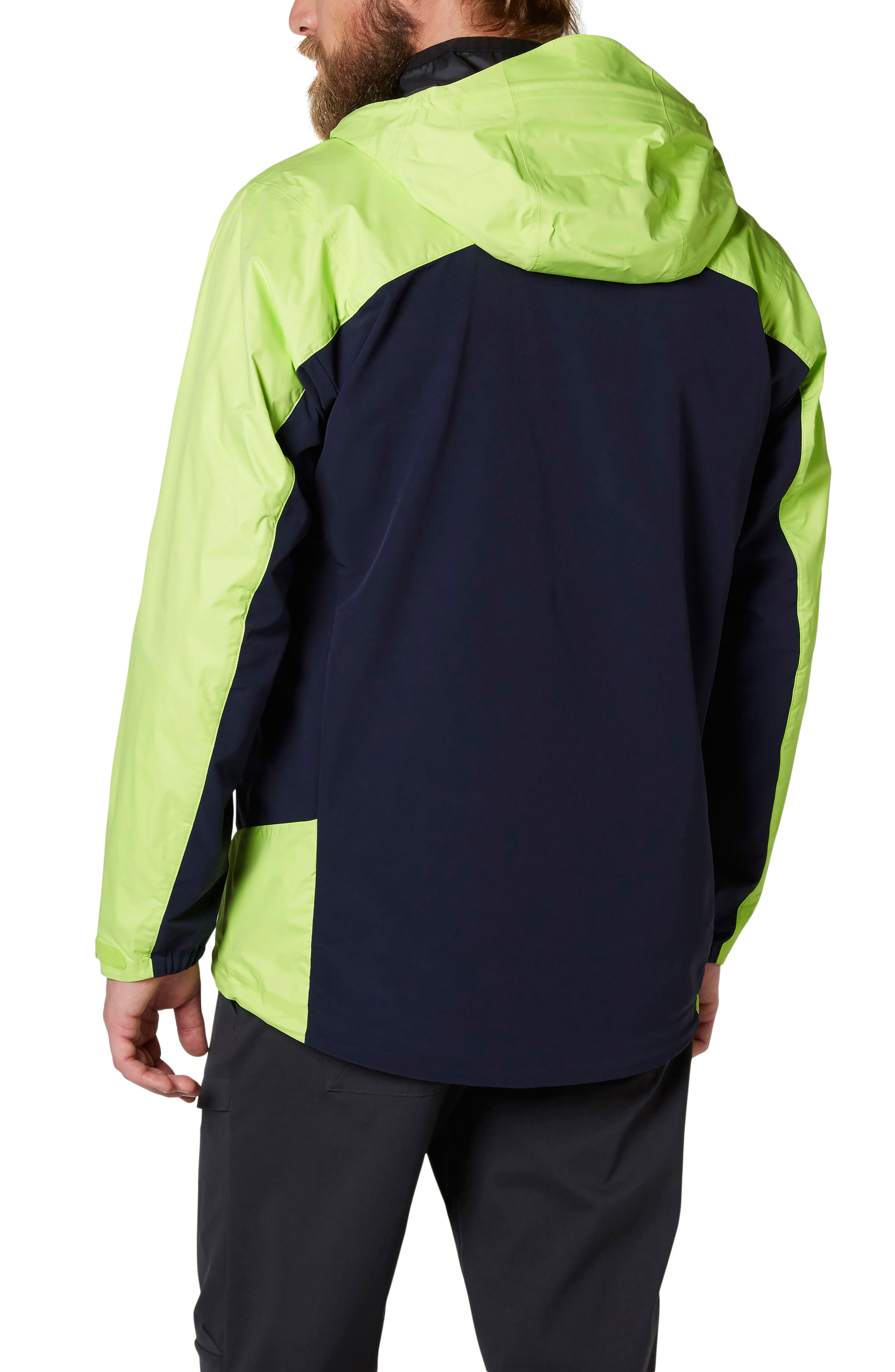Vanir Logr Regular Fit Waterproof Jacket,                             Alternate thumbnail 3, color,