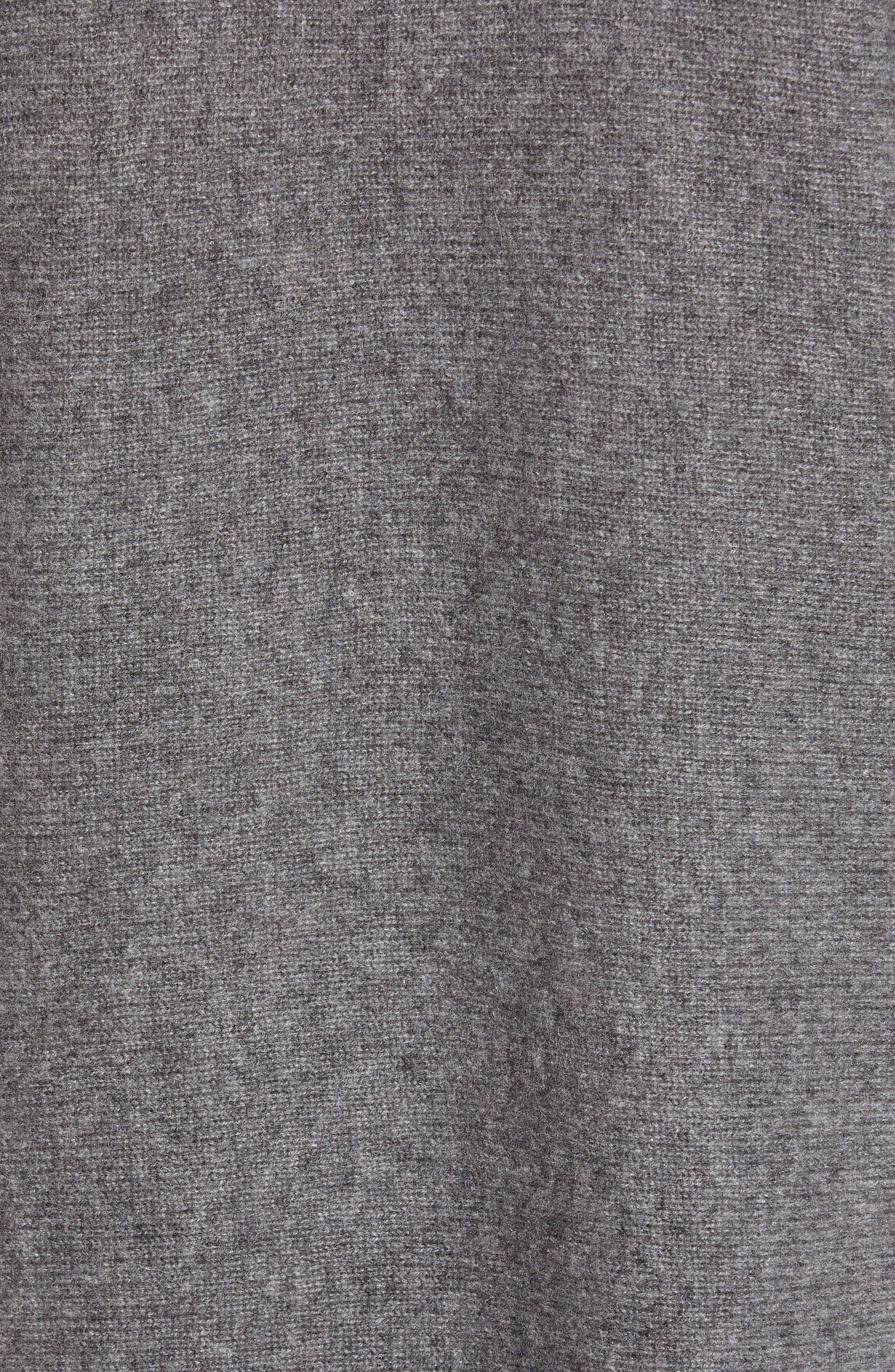 High/Low Wool & Cashmere Tunic Sweater,                             Alternate thumbnail 75, color,
