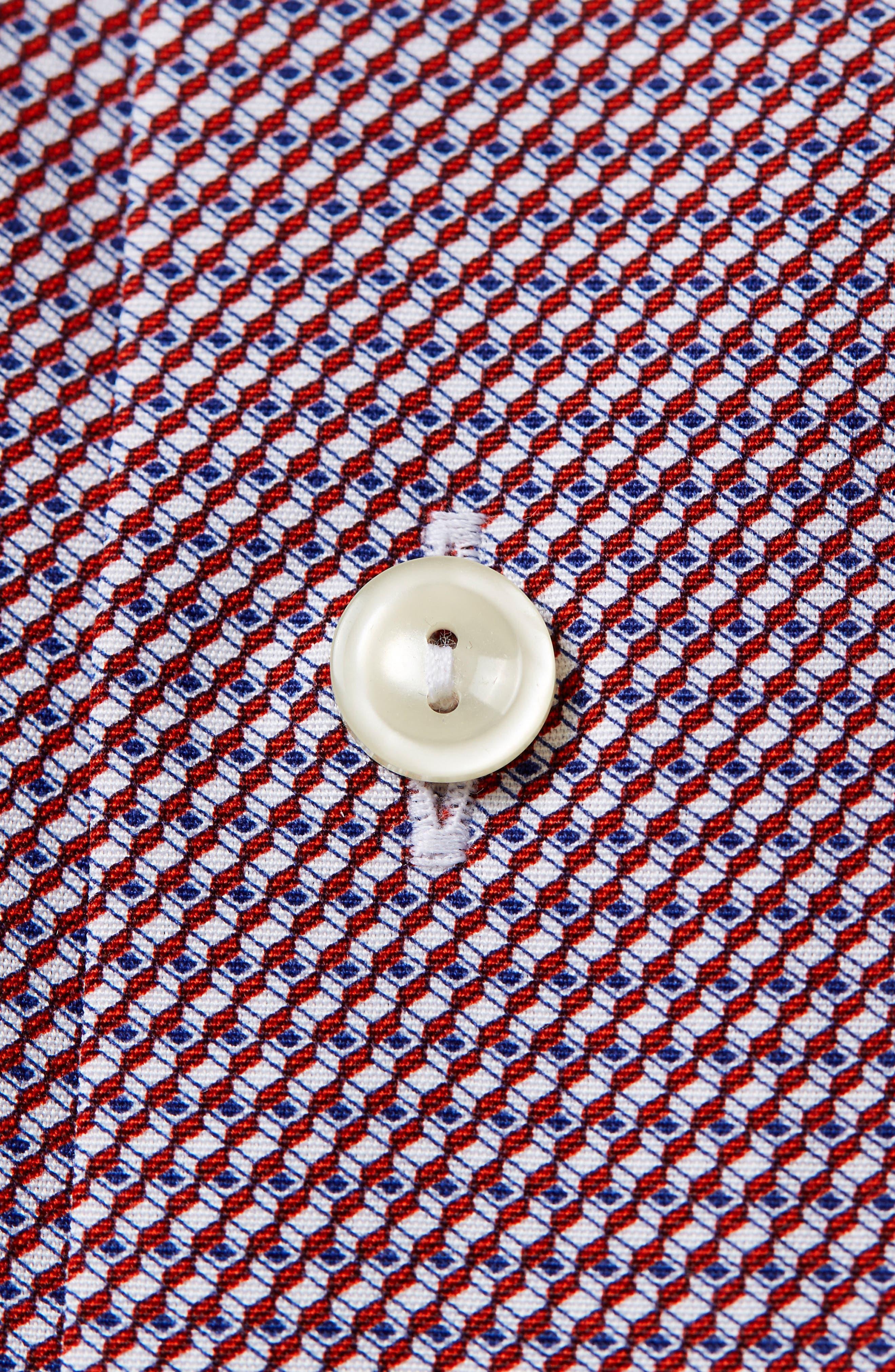 Contemporary Fit Geometric Dress Shirt,                             Alternate thumbnail 2, color,                             649