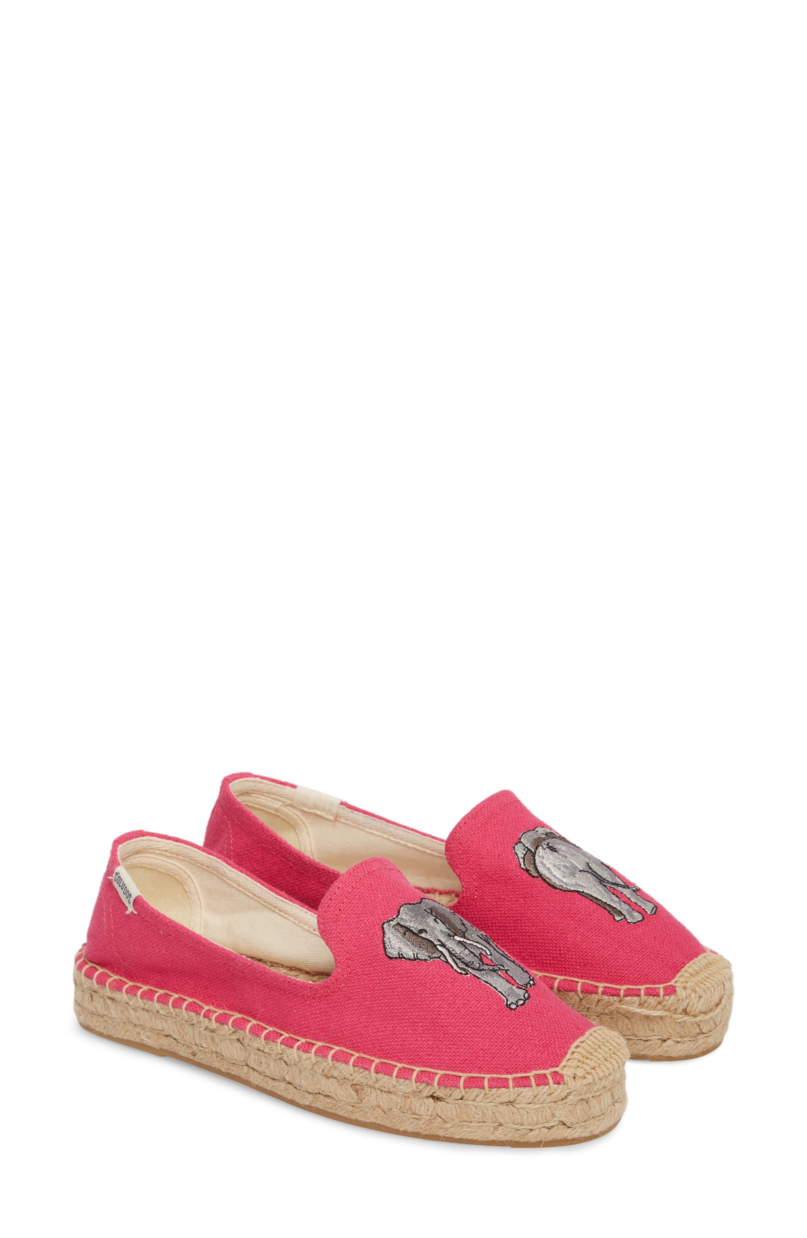 Embroidered Platform Espadrille,                         Main,                         color, 652