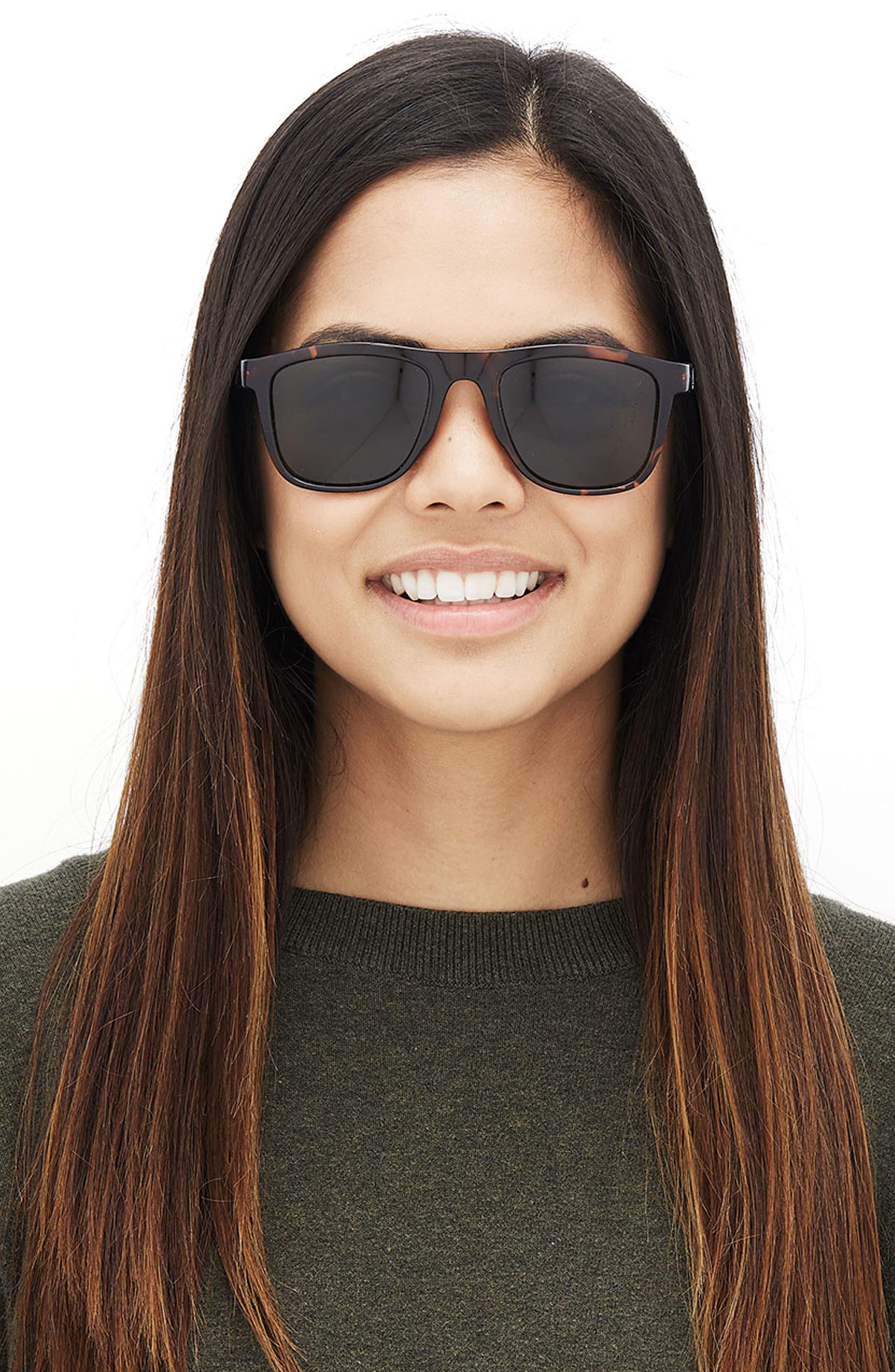 Navarros 53mm Polarized Sunglasses,                             Alternate thumbnail 2, color,                             TORTOISE FOREST
