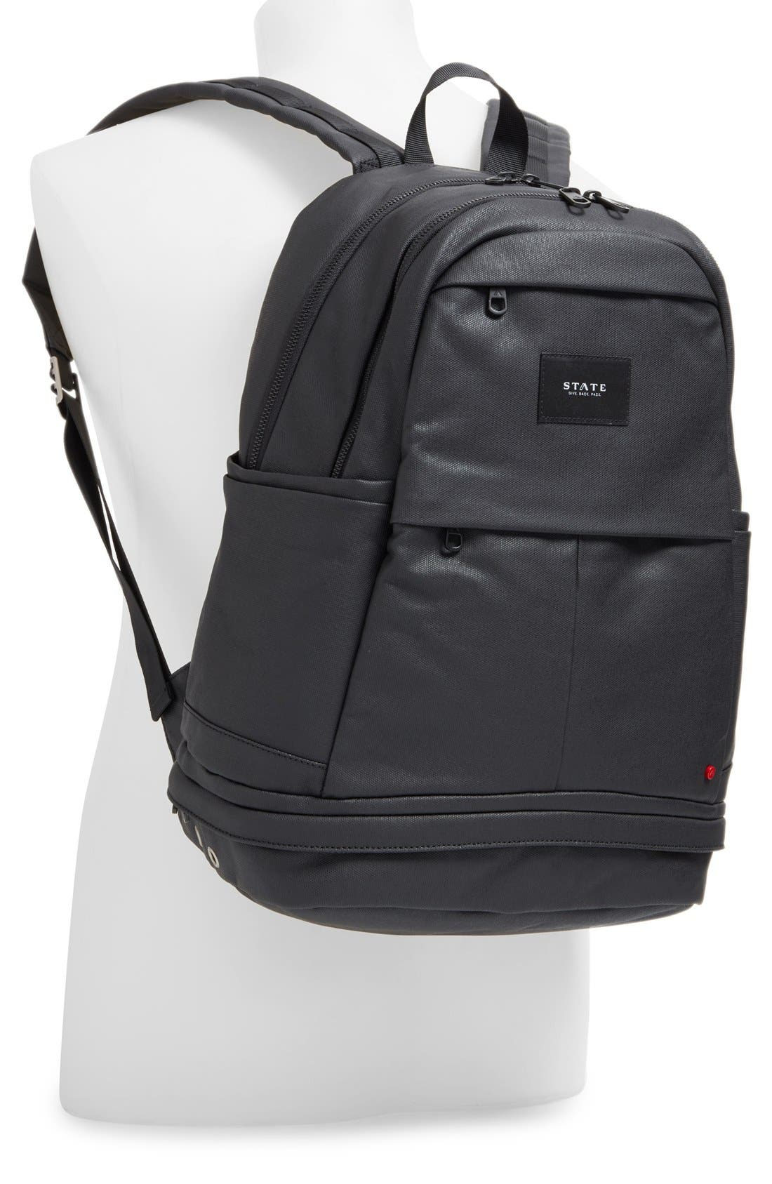 STATE BAGS,                             'Lenox' Backpack,                             Alternate thumbnail 4, color,                             001