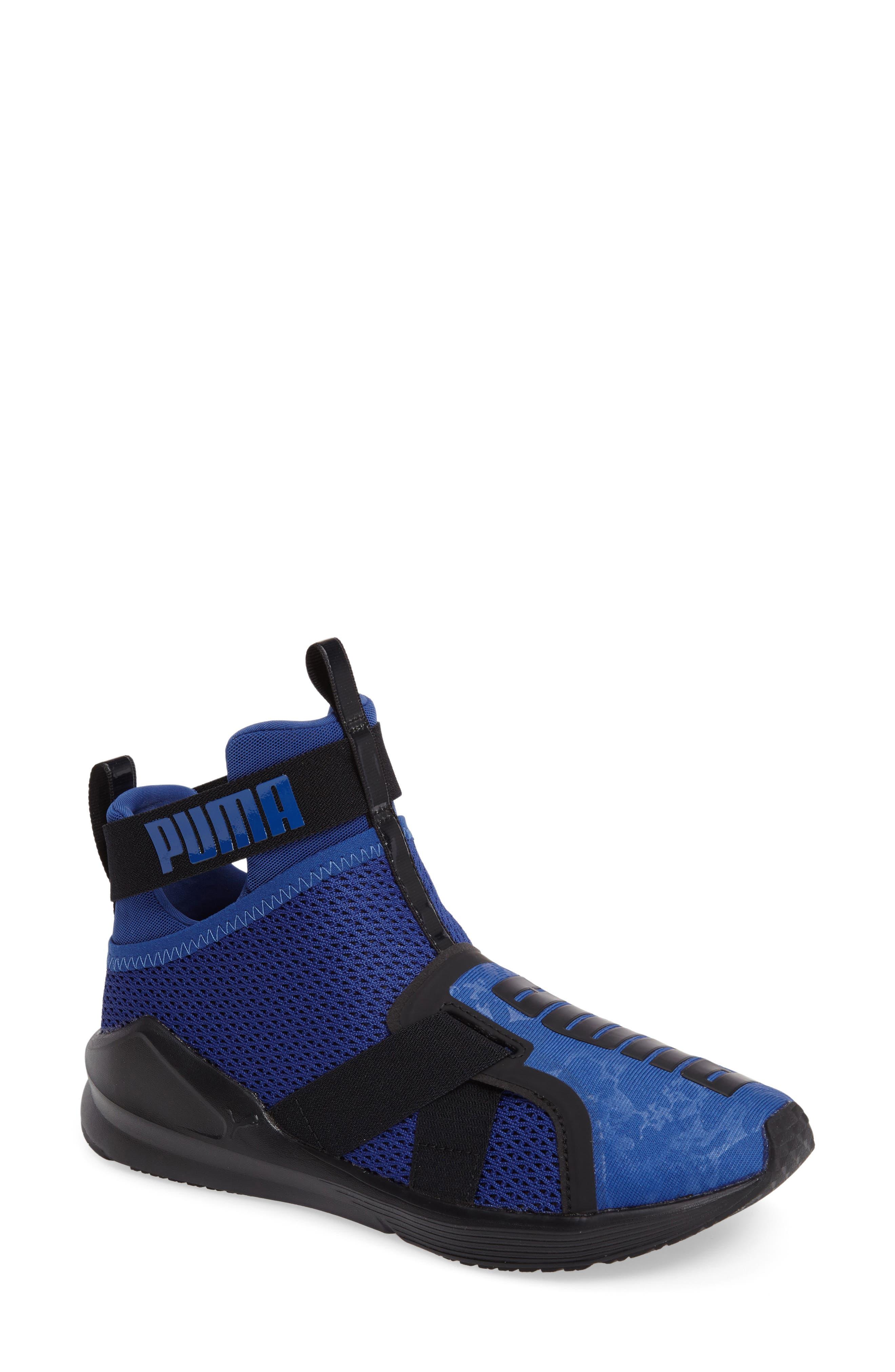 Fierce Strap Training Sneaker,                             Main thumbnail 6, color,