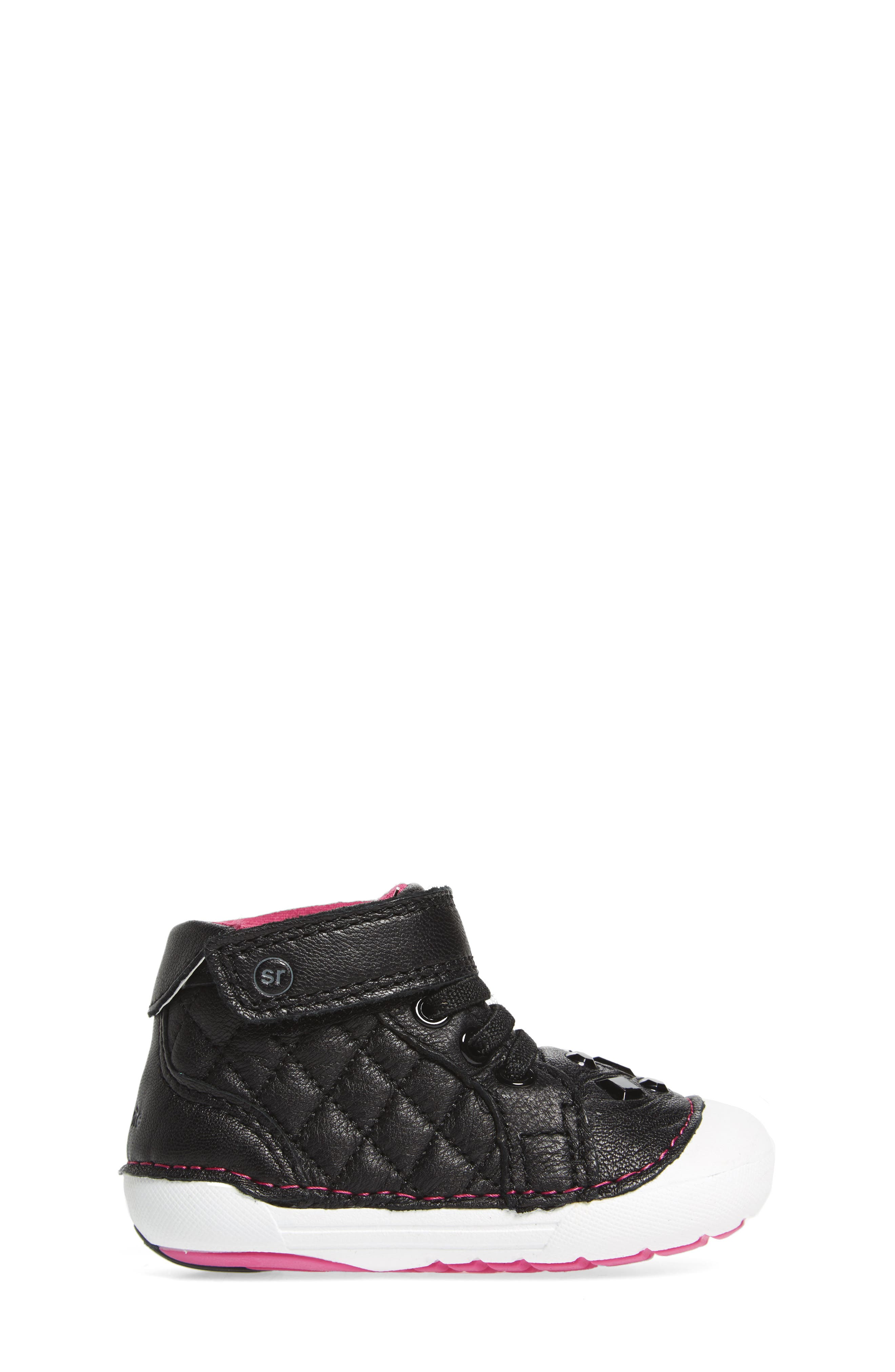 Soft Motion<sup>™</sup> Jada High Top Sneaker,                             Alternate thumbnail 3, color,                             001