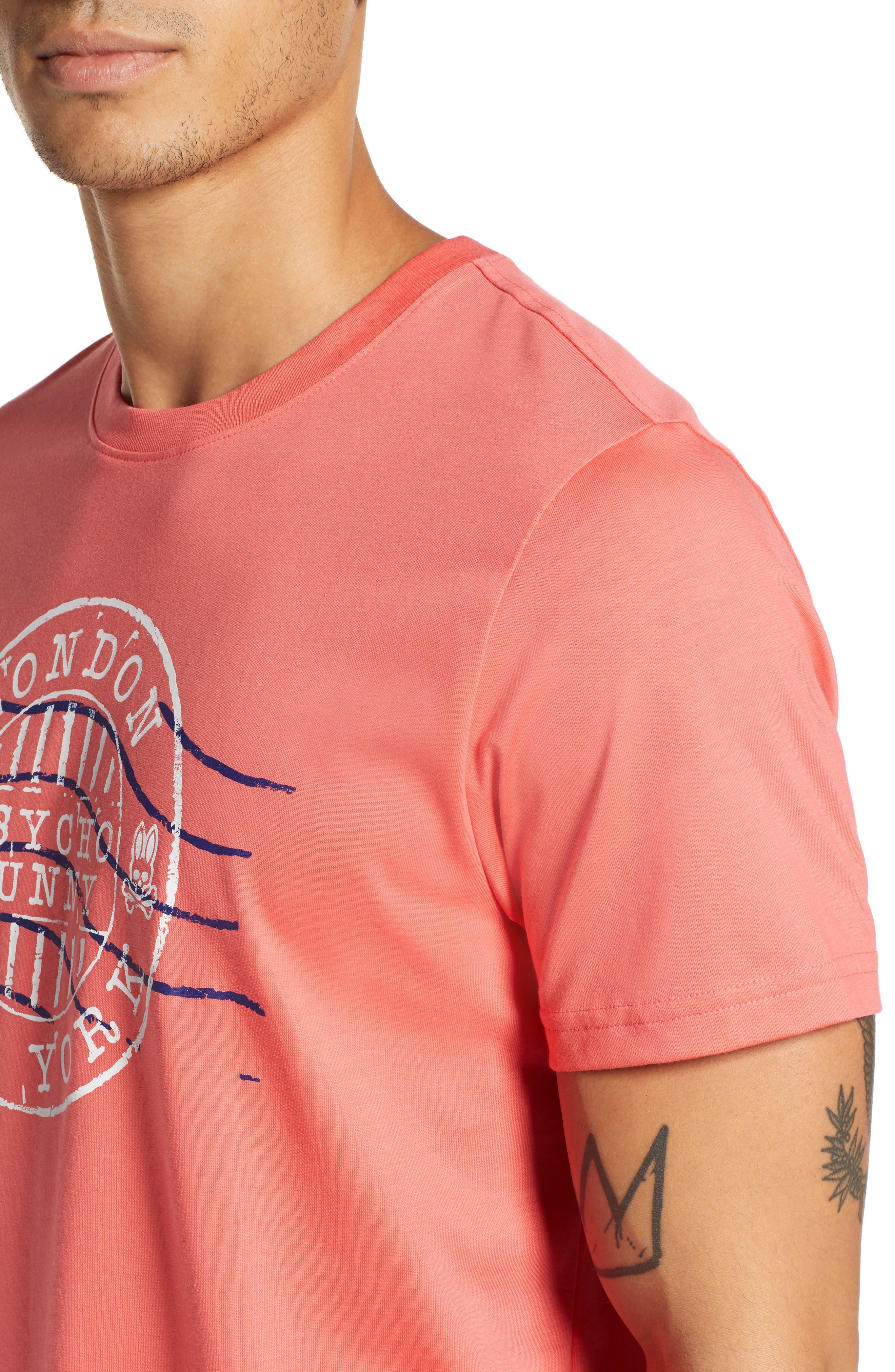 Ashton Graphic T-Shirt,                             Alternate thumbnail 4, color,                             CAMPARI