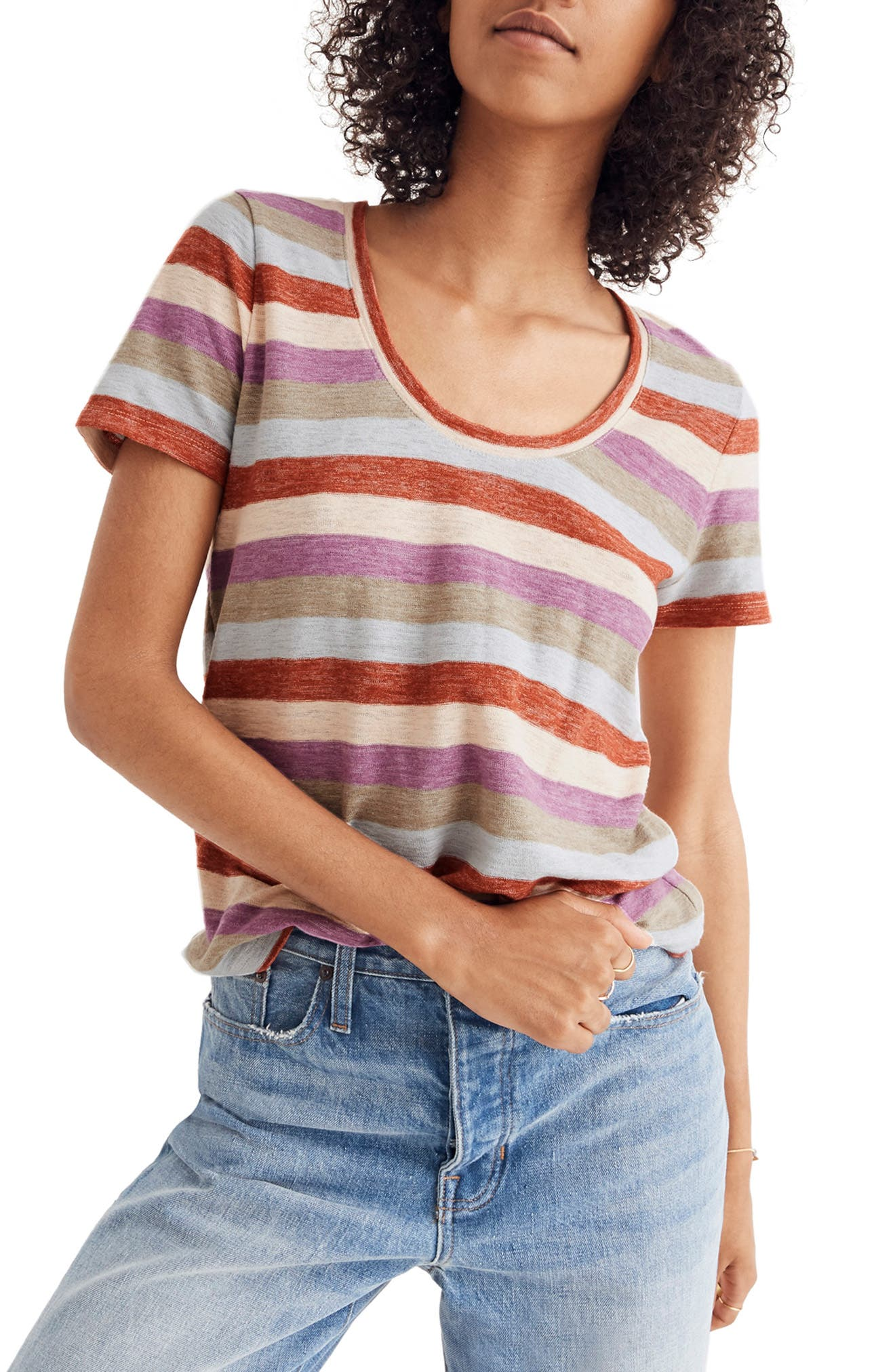 Alto Scoop Tee,                             Main thumbnail 1, color,                             400