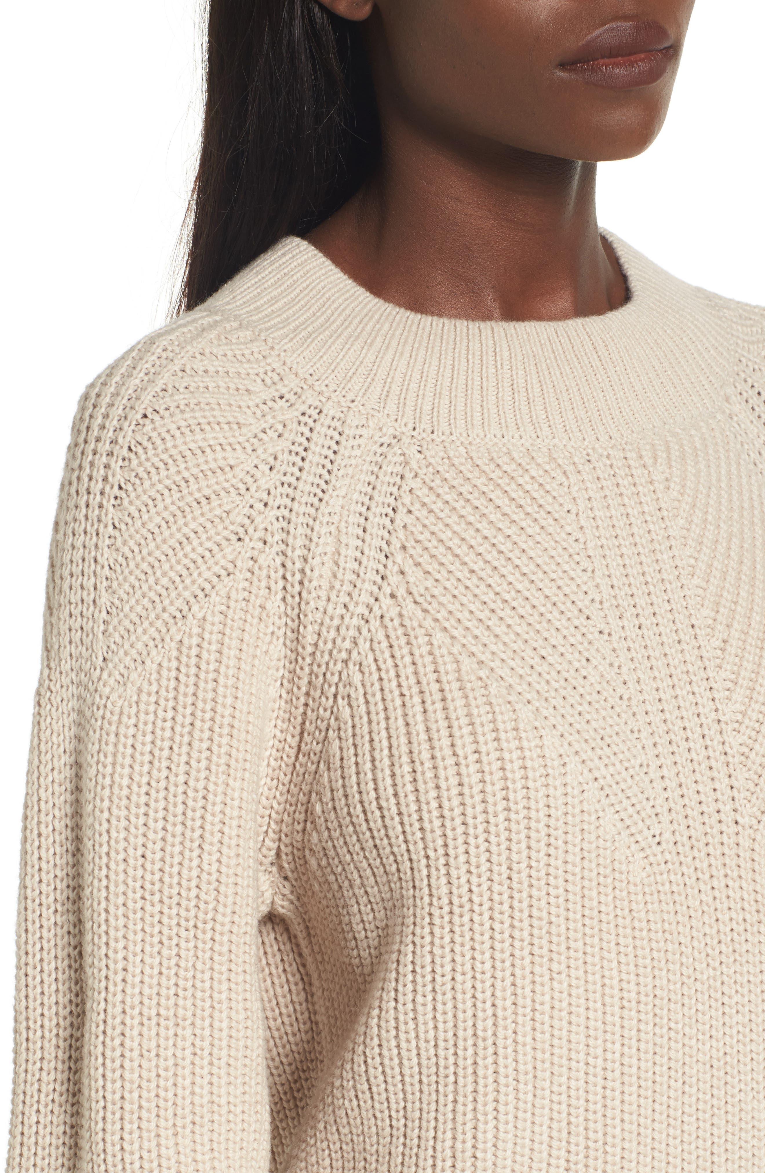 Shaker Stitch Sweater,                             Alternate thumbnail 4, color,                             270