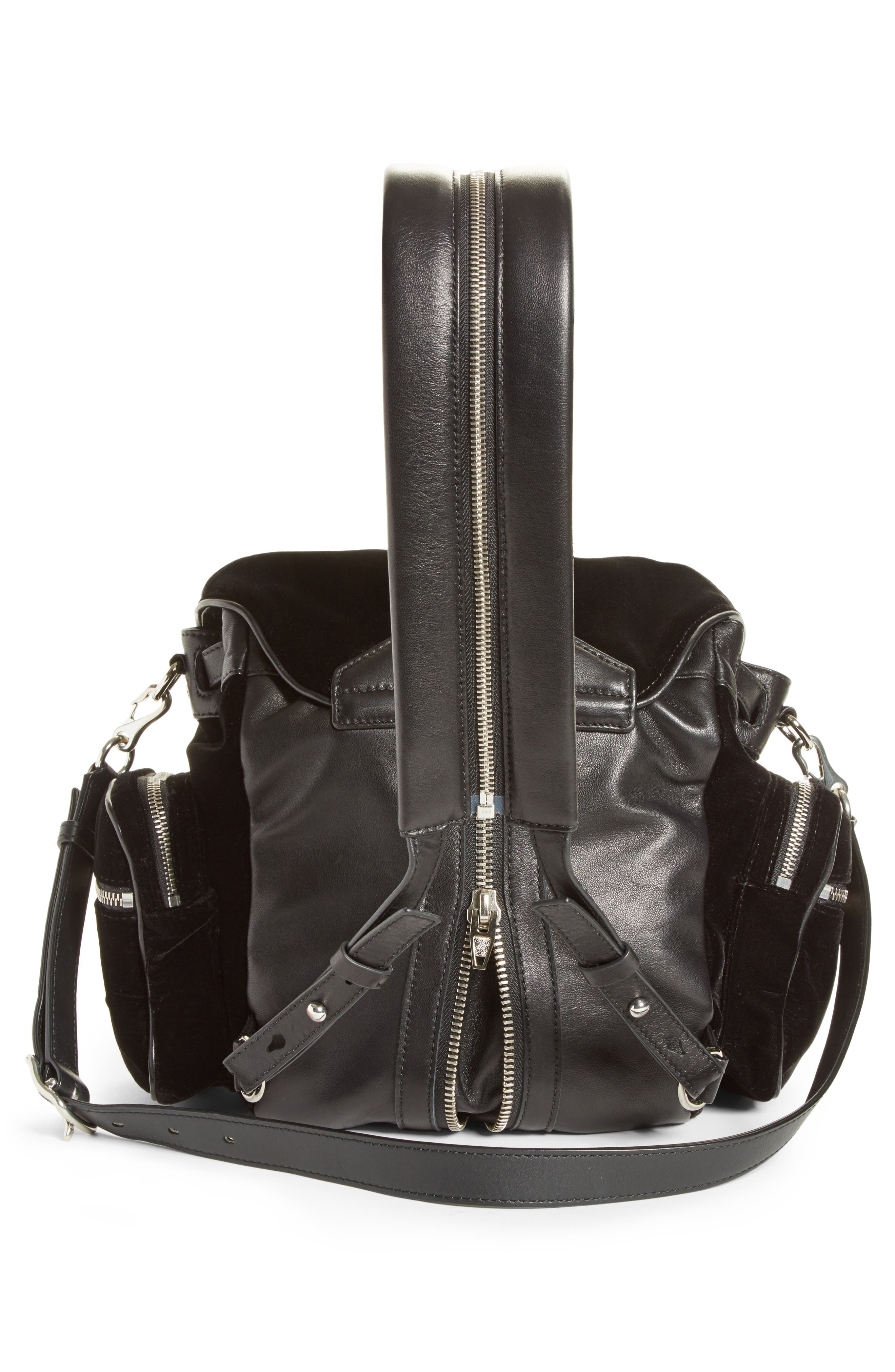 Drawstring Backpack,                             Alternate thumbnail 3, color,                             001