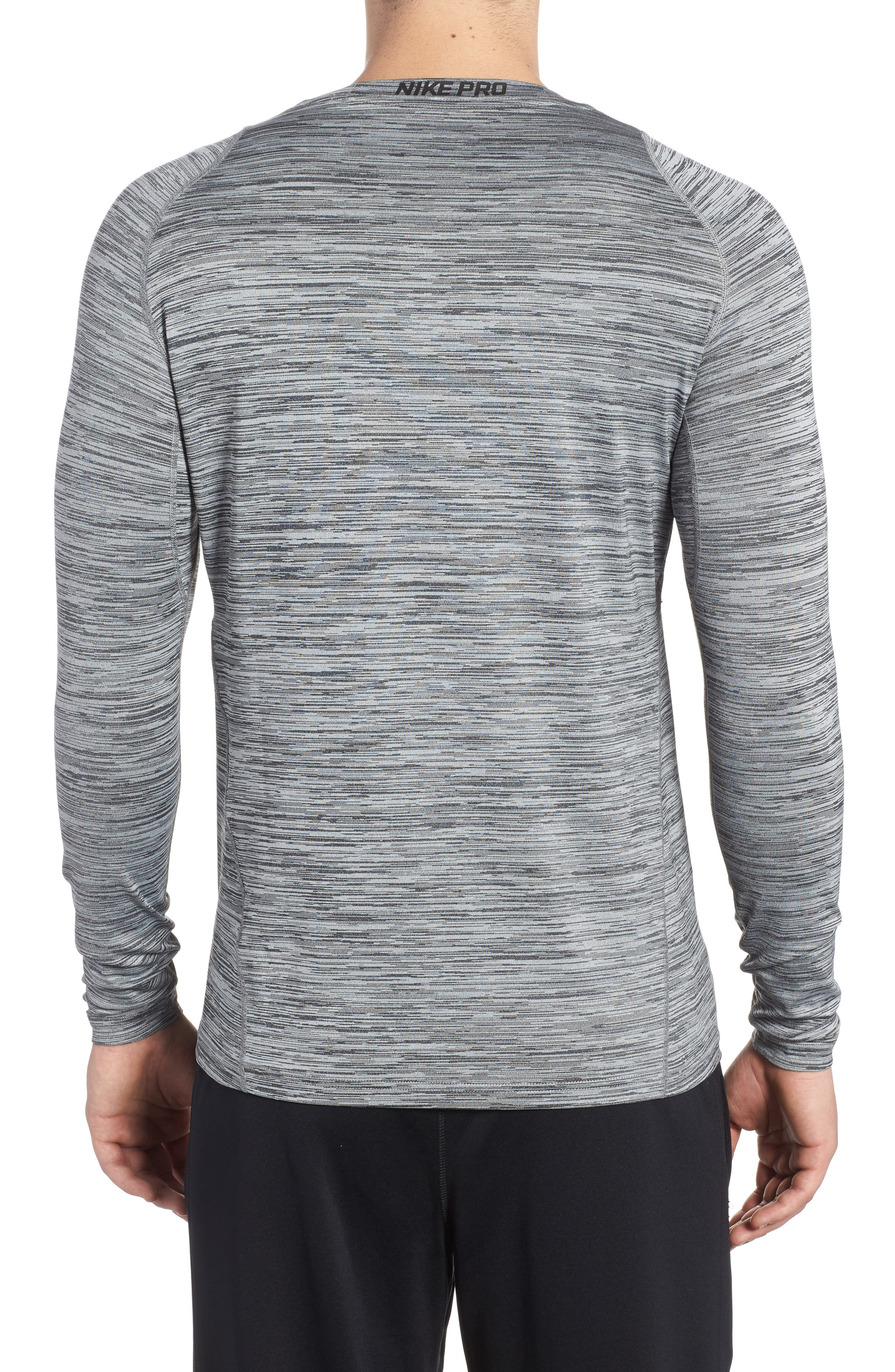Pro Long Sleeve T-Shirt,                             Alternate thumbnail 2, color,                             010