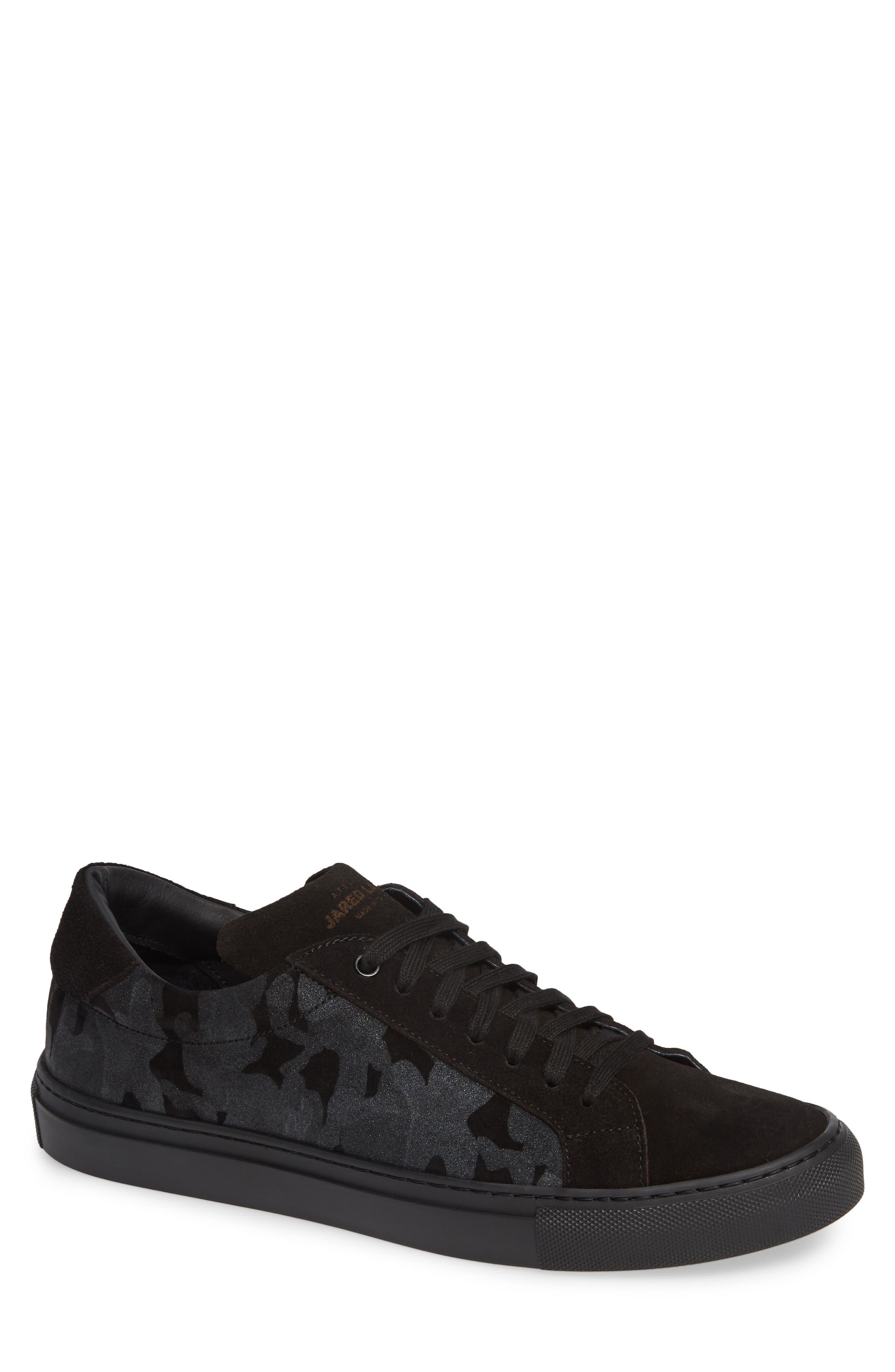 Rome Sneaker,                             Main thumbnail 1, color,                             BLACK