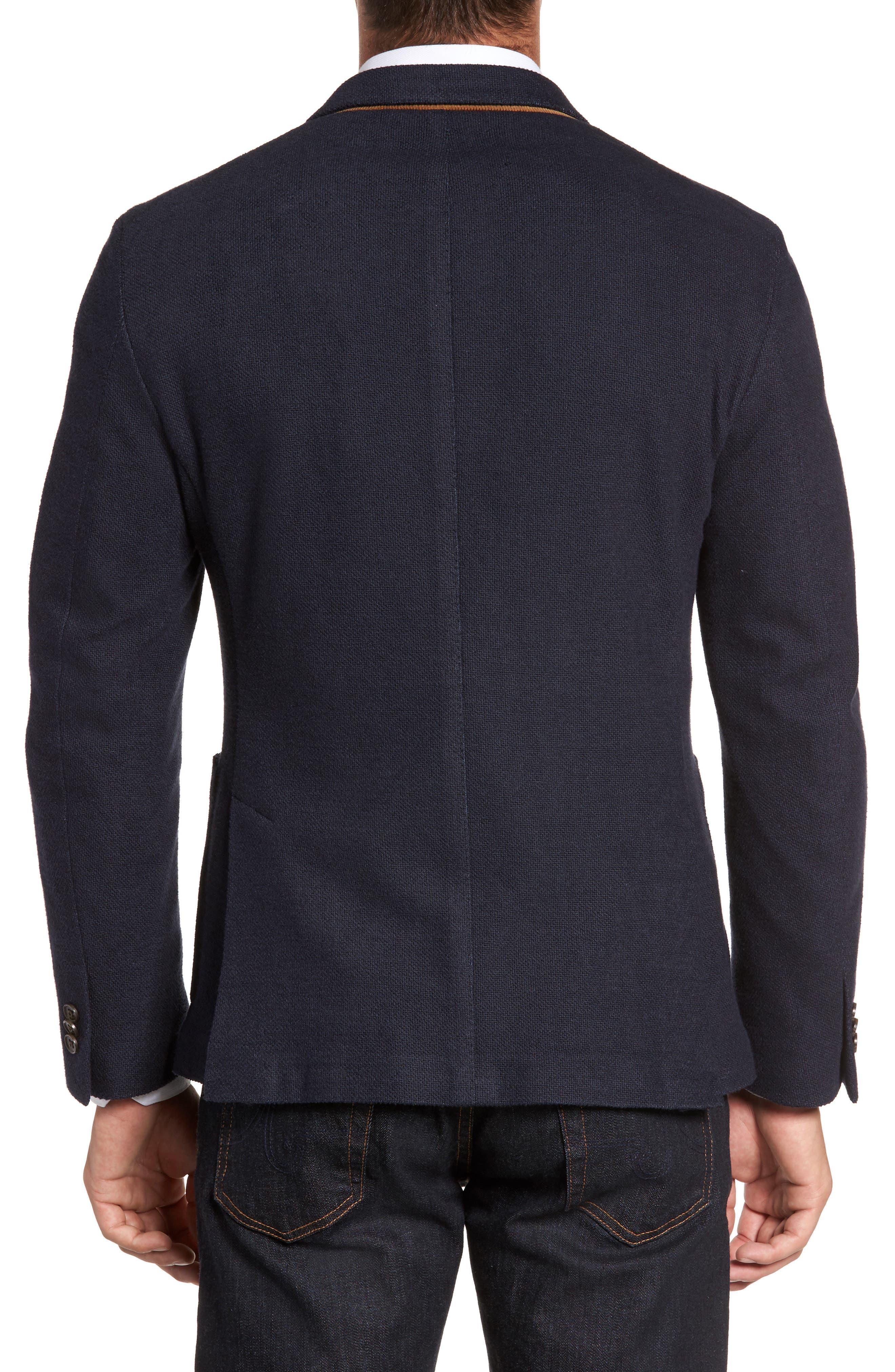 Classic Fit Cotton Blend Jersey Sport Coat,                             Alternate thumbnail 2, color,                             410