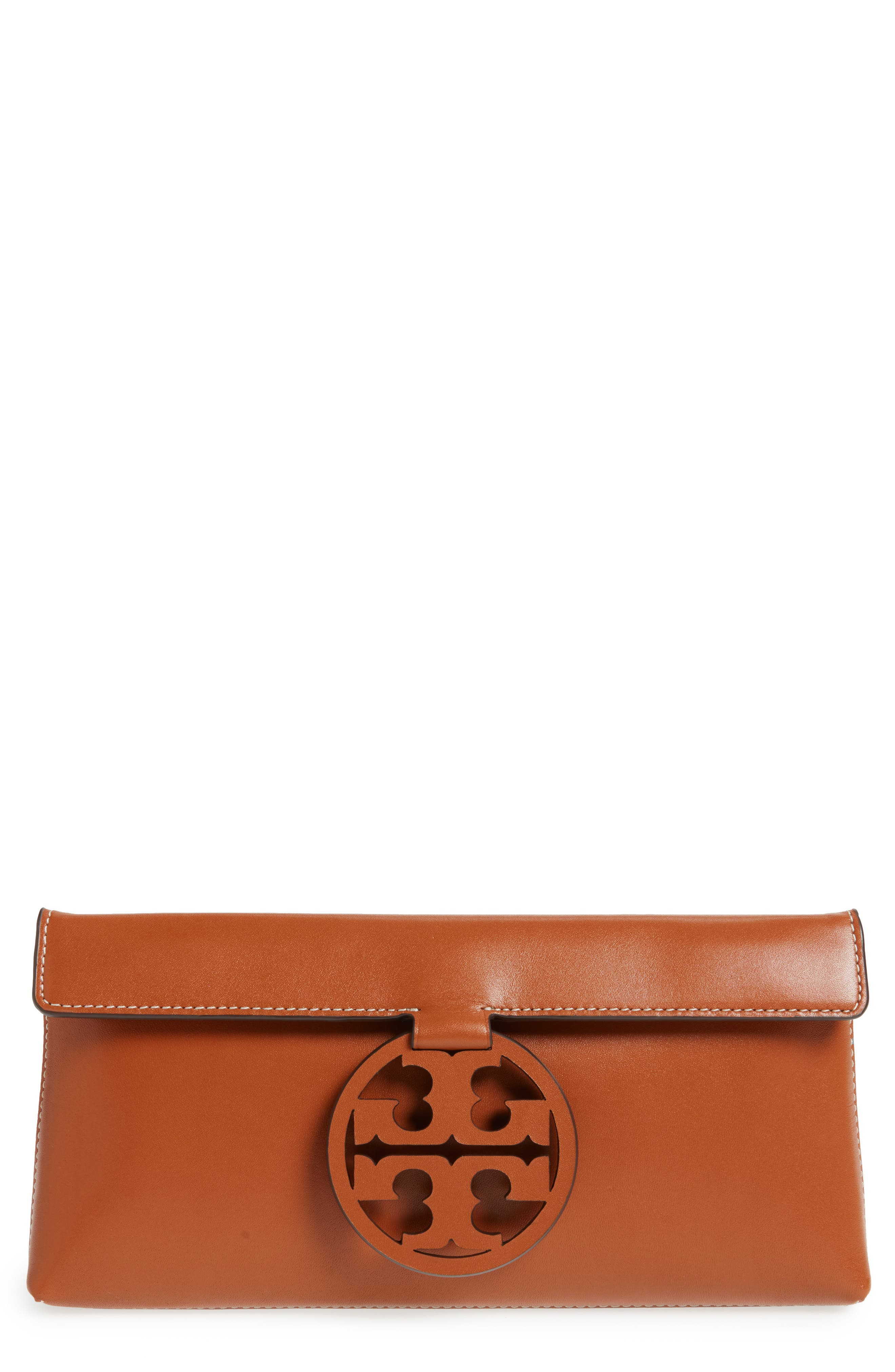 Miller Leather Clutch,                             Main thumbnail 2, color,