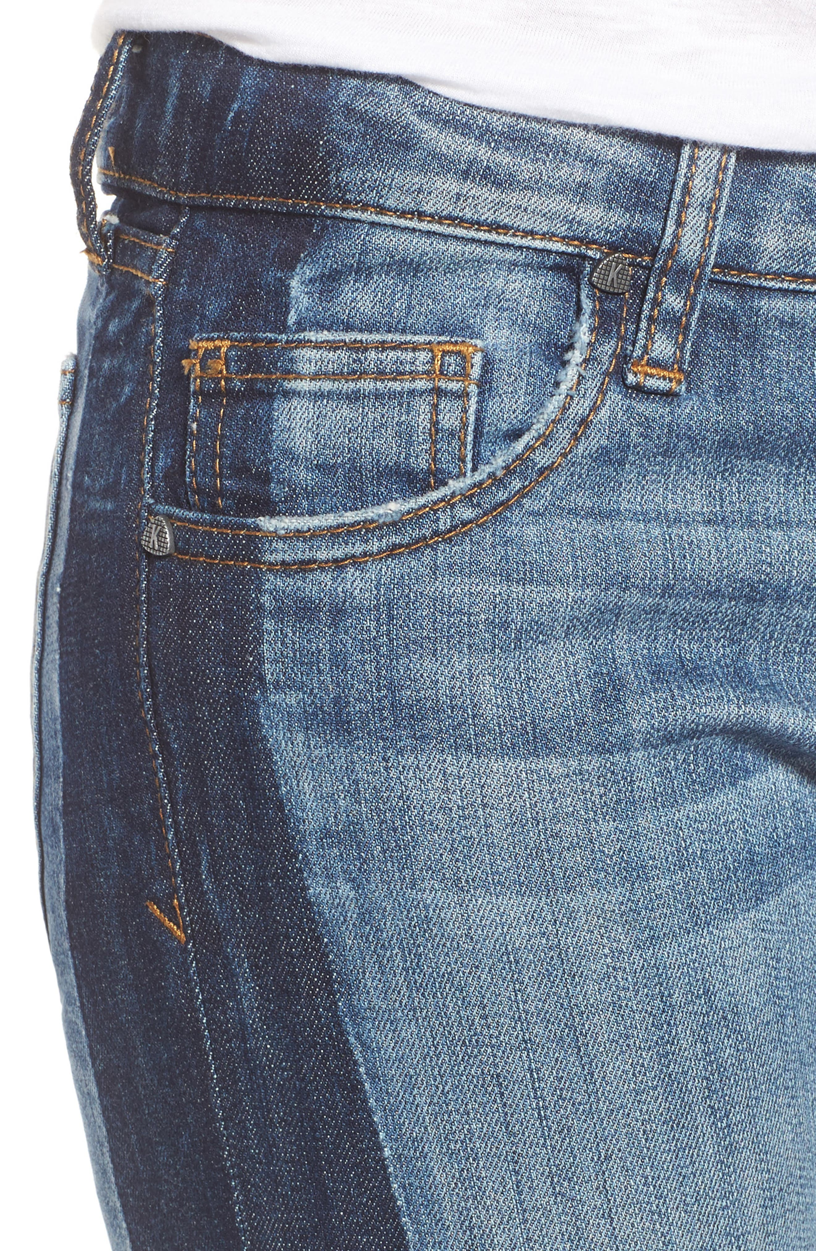 Reese Patch Jeans,                             Alternate thumbnail 4, color,                             460