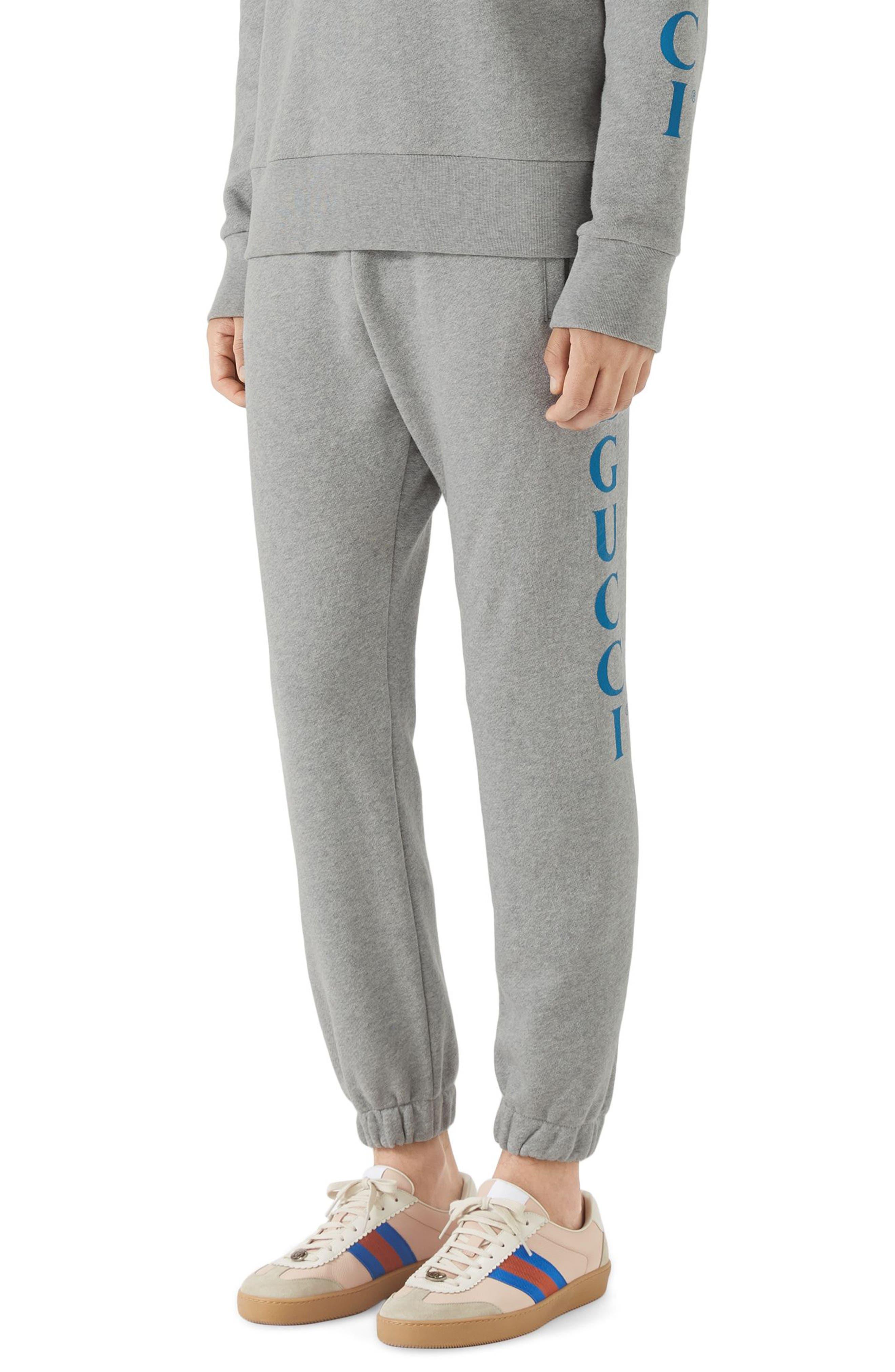 Side Logo Sweatpants,                         Main,                         color, MEDIUM GREY
