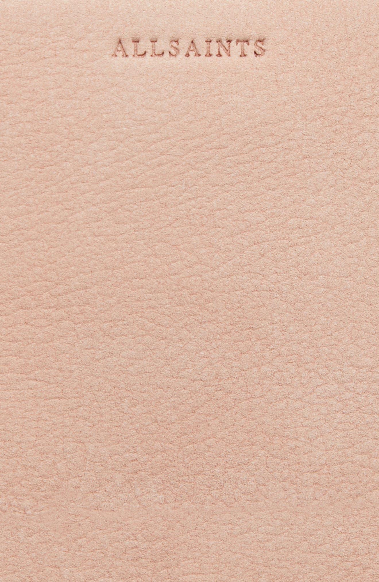 Mini Mast Leather North/South Tote,                             Alternate thumbnail 8, color,                             681