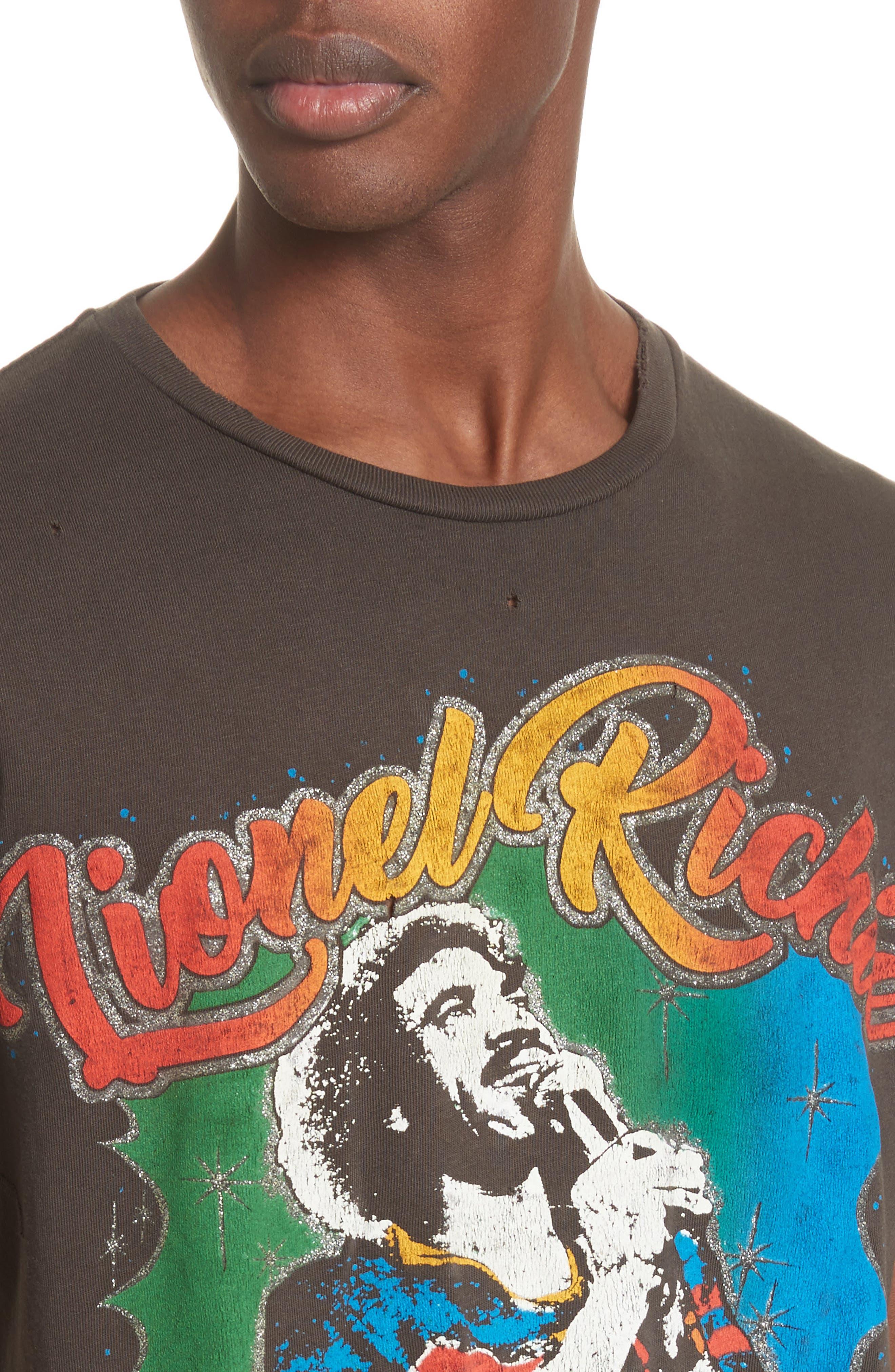 Lionel Richie Graphic T-Shirt,                             Alternate thumbnail 4, color,