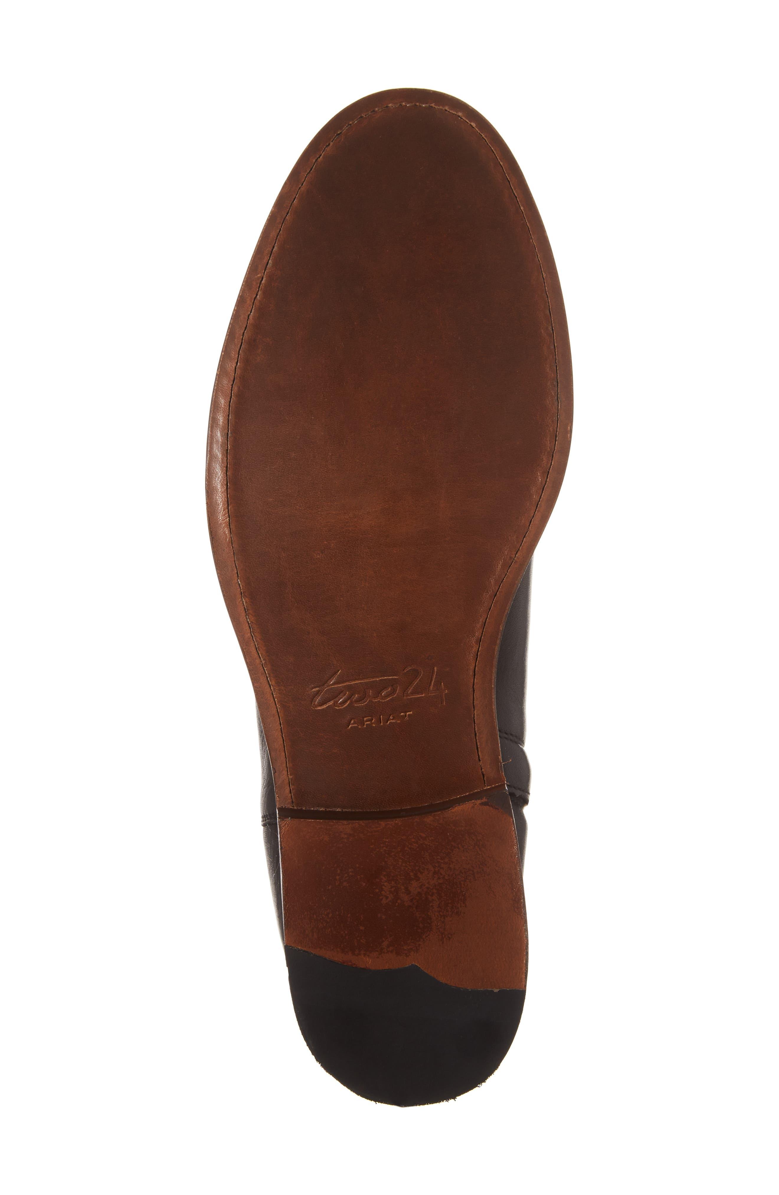 Ariat Santa Fe Mid Zip Boot,                             Alternate thumbnail 6, color,                             001