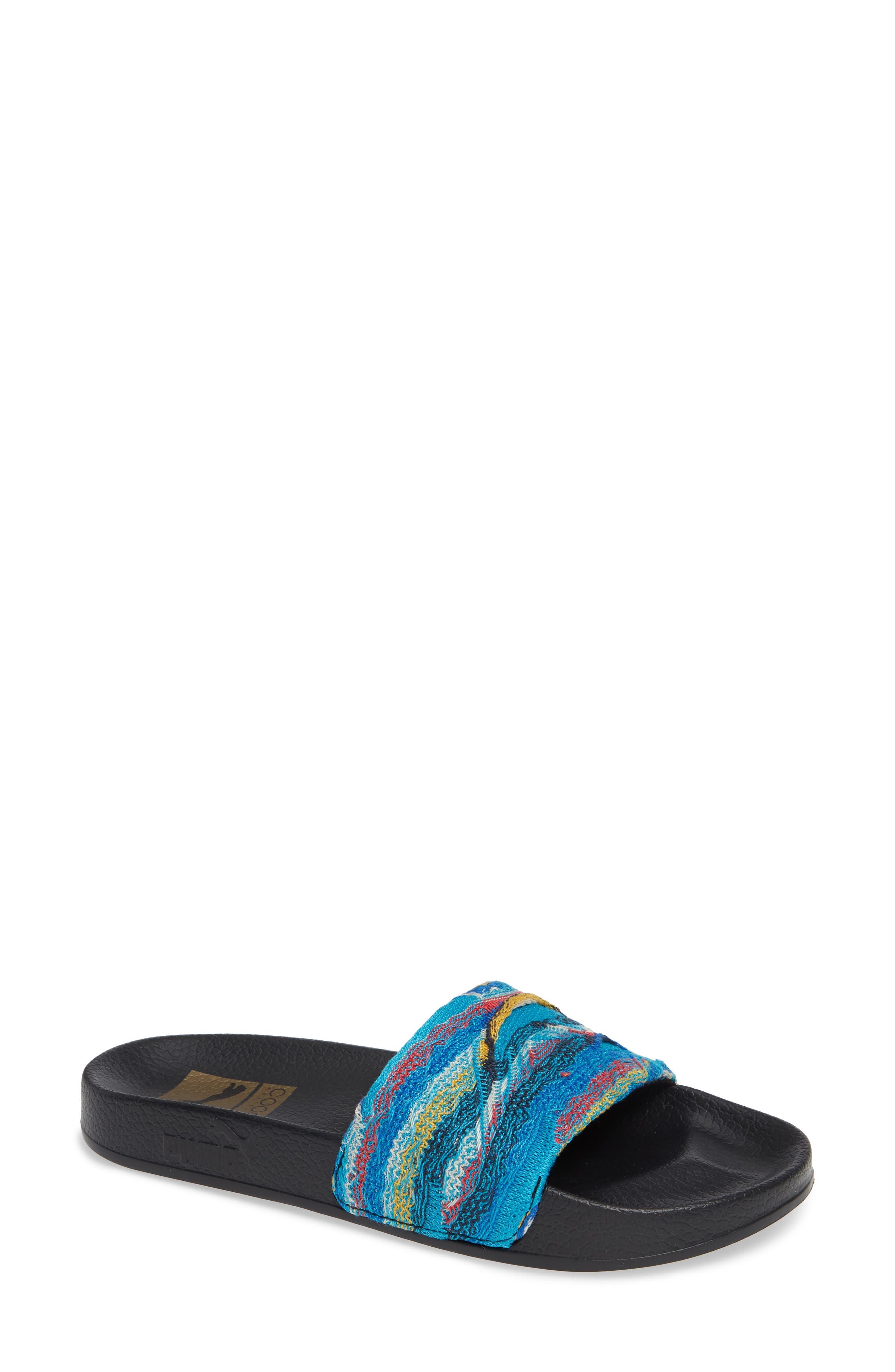 Leadcat Coogie Slide Sandal,                             Main thumbnail 1, color,                             ISLAND PARADISE/ PUMA BLACK