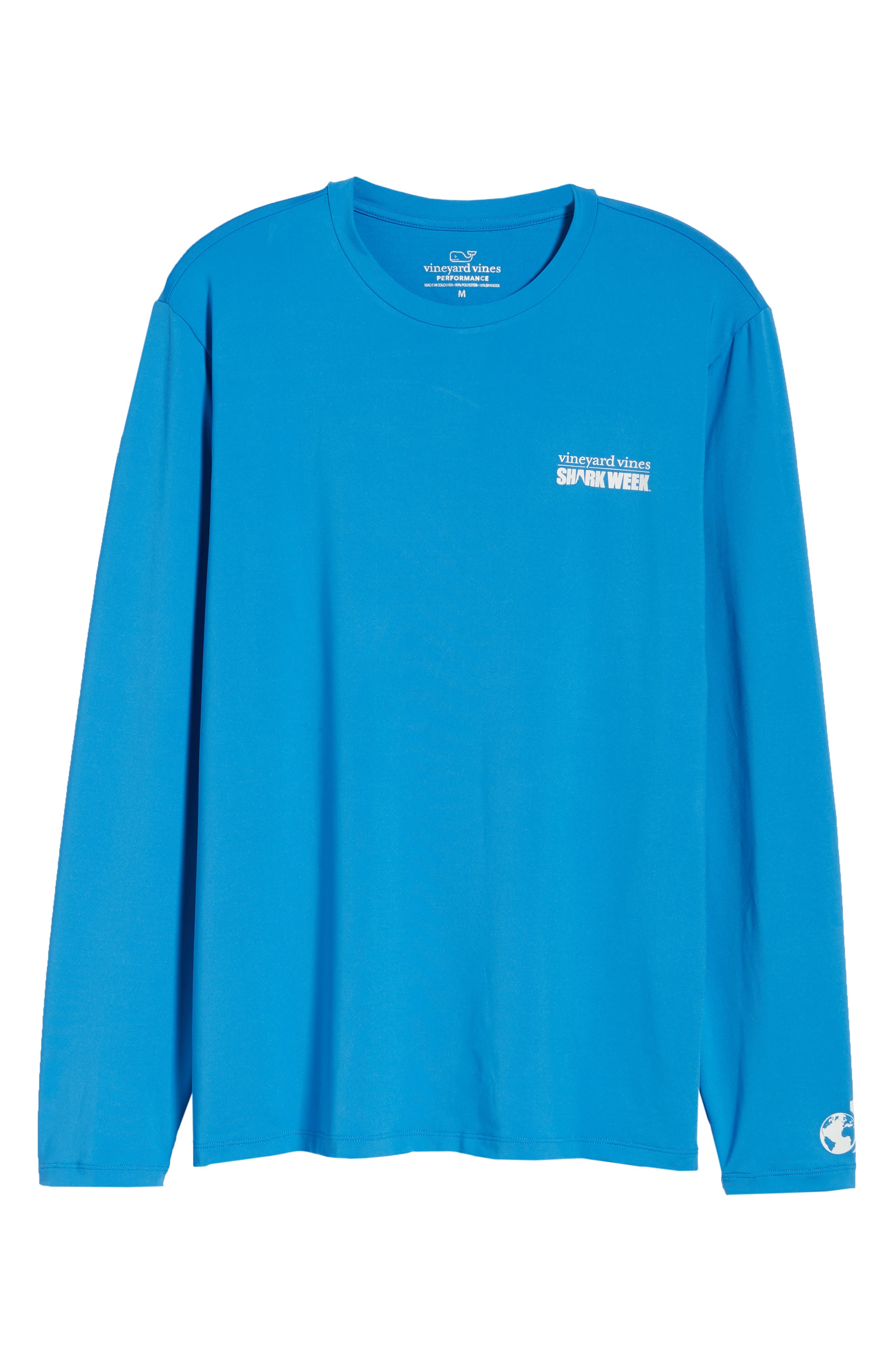 x Shark Week<sup>™</sup> Logo Long Sleeve T-Shirt,                             Alternate thumbnail 6, color,